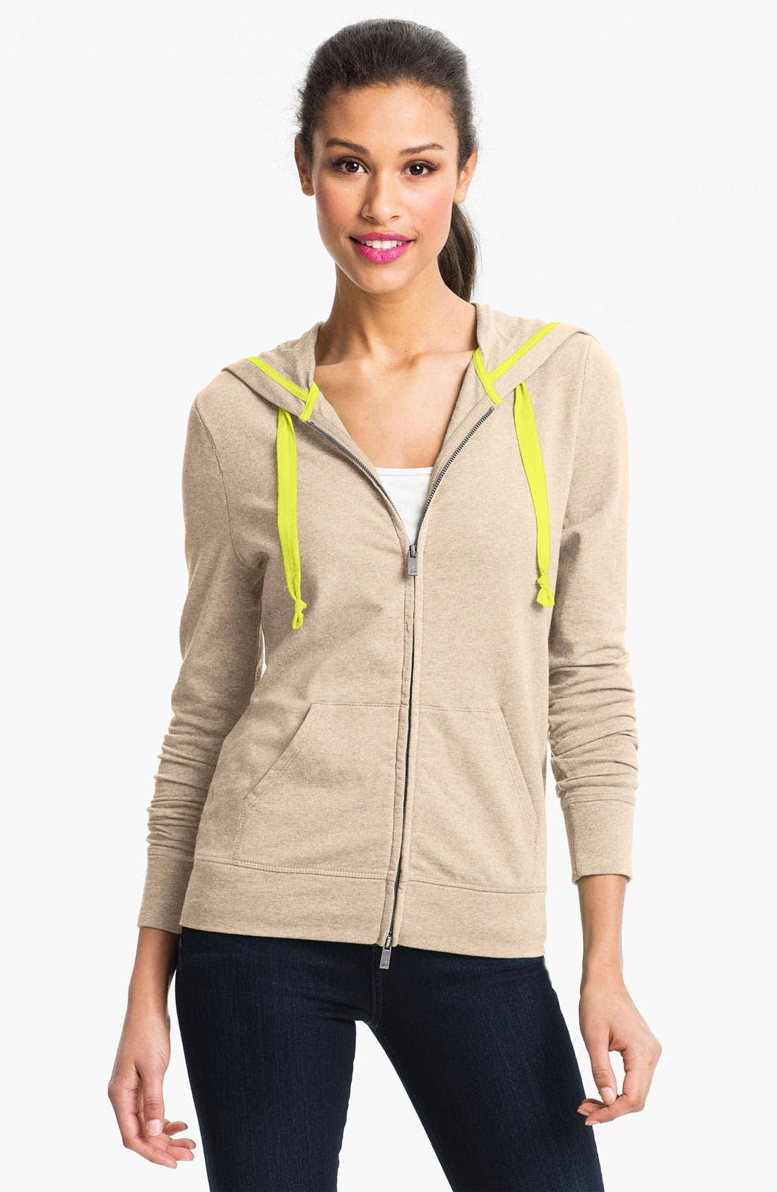 Main Image - Two by Vince Camuto Hooded Sweatshirt