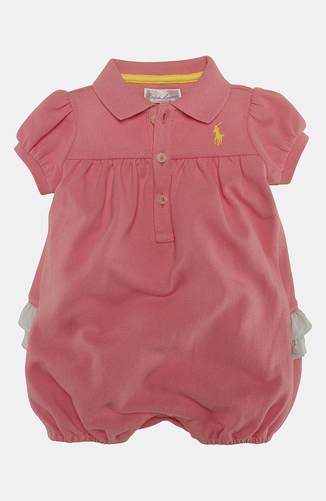 Main Image - Ralph Lauren Coveralls (Baby)