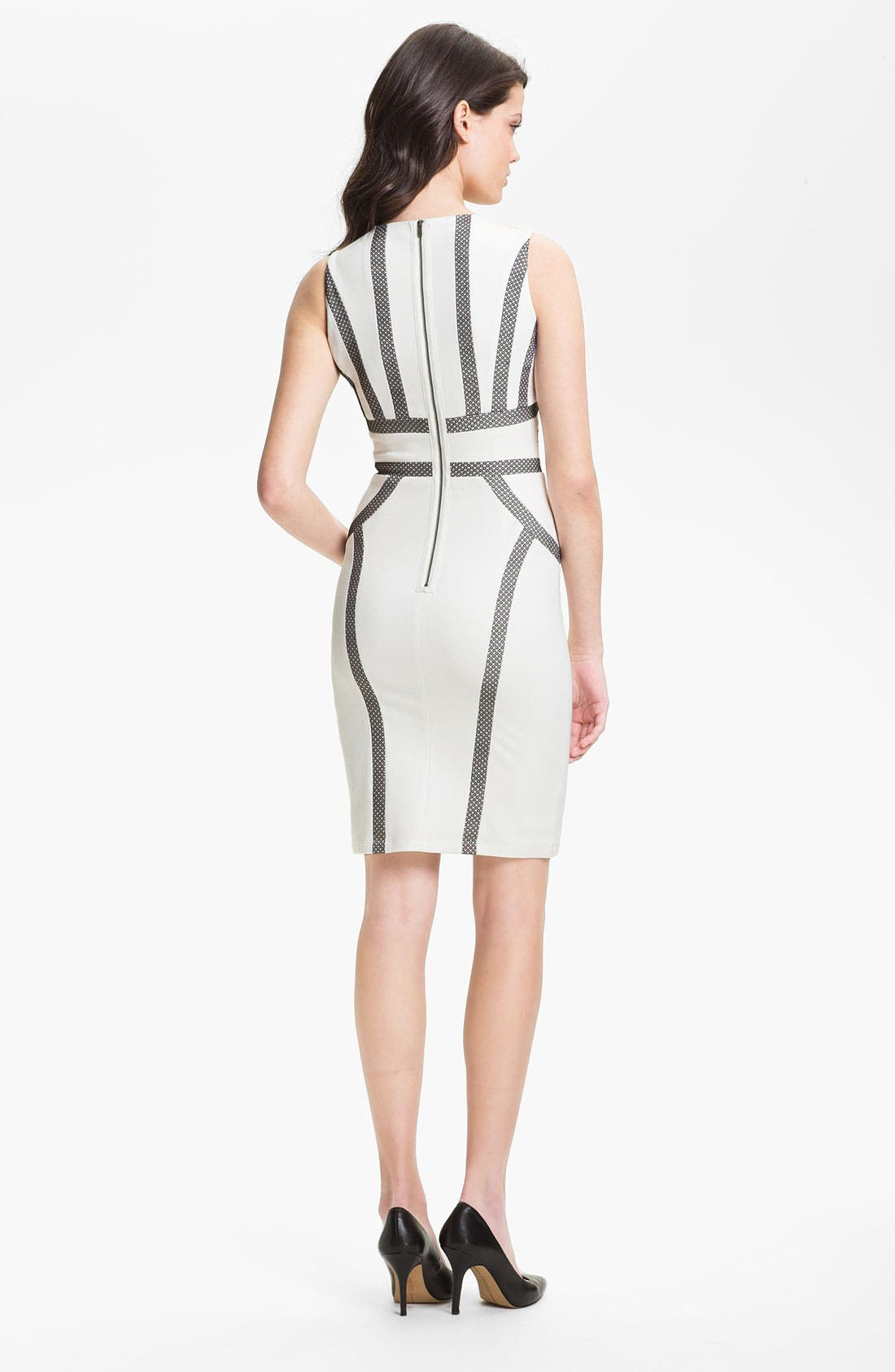 Alternate Image 2  - BCBGMAXAZRIA Contoured Sheath Dress
