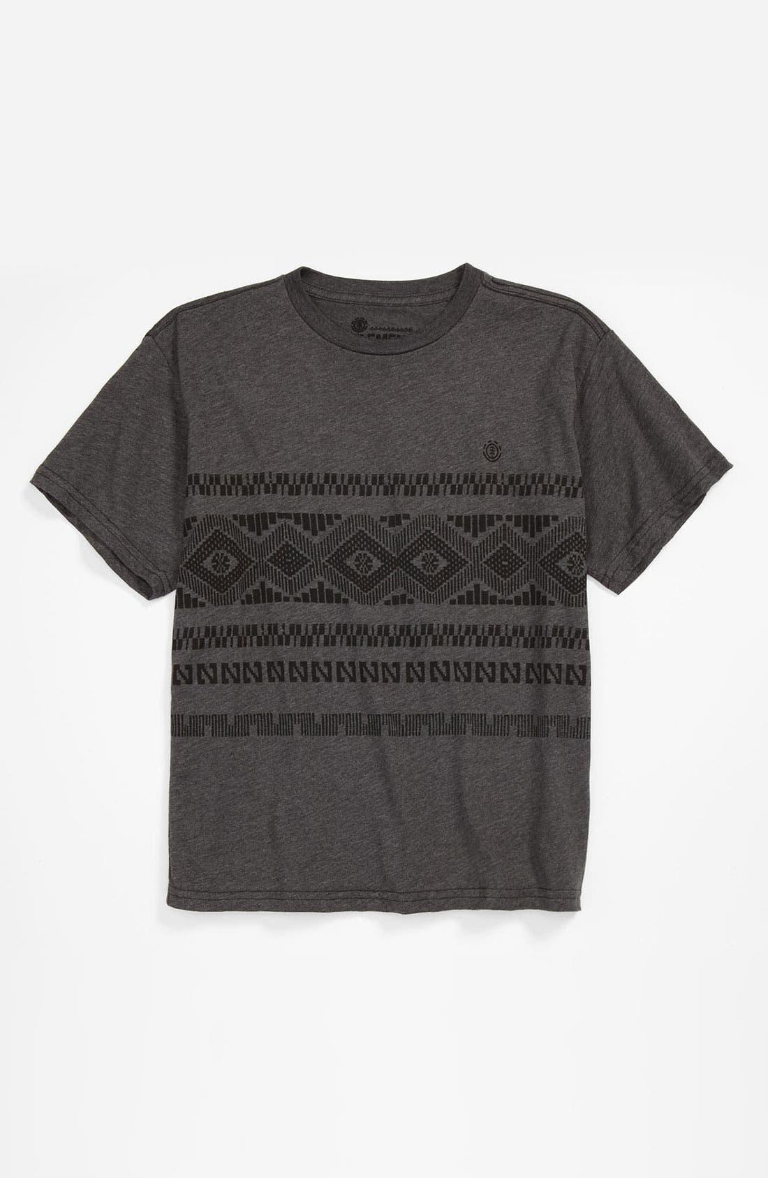 Alternate Image 1 Selected - Element 'Clovis' T-Shirt (Big Boys)