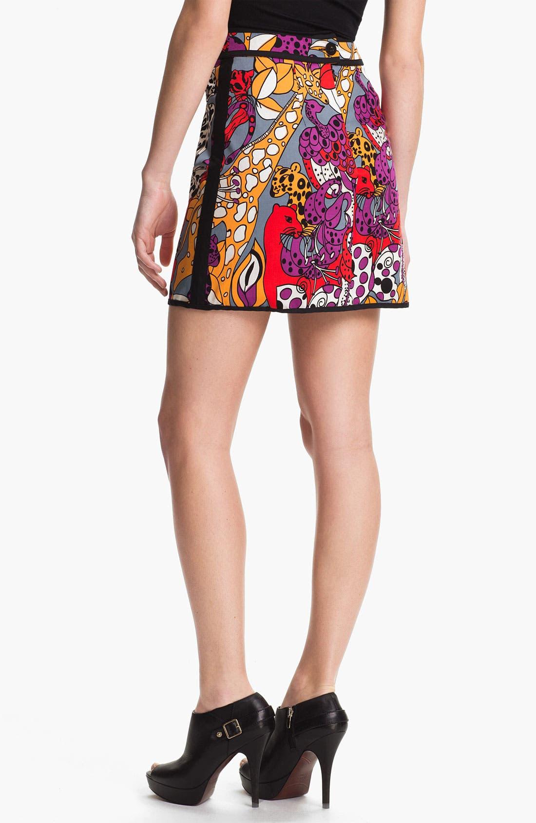 Alternate Image 2  - Nanette Lepore 'Jungle' Skirt
