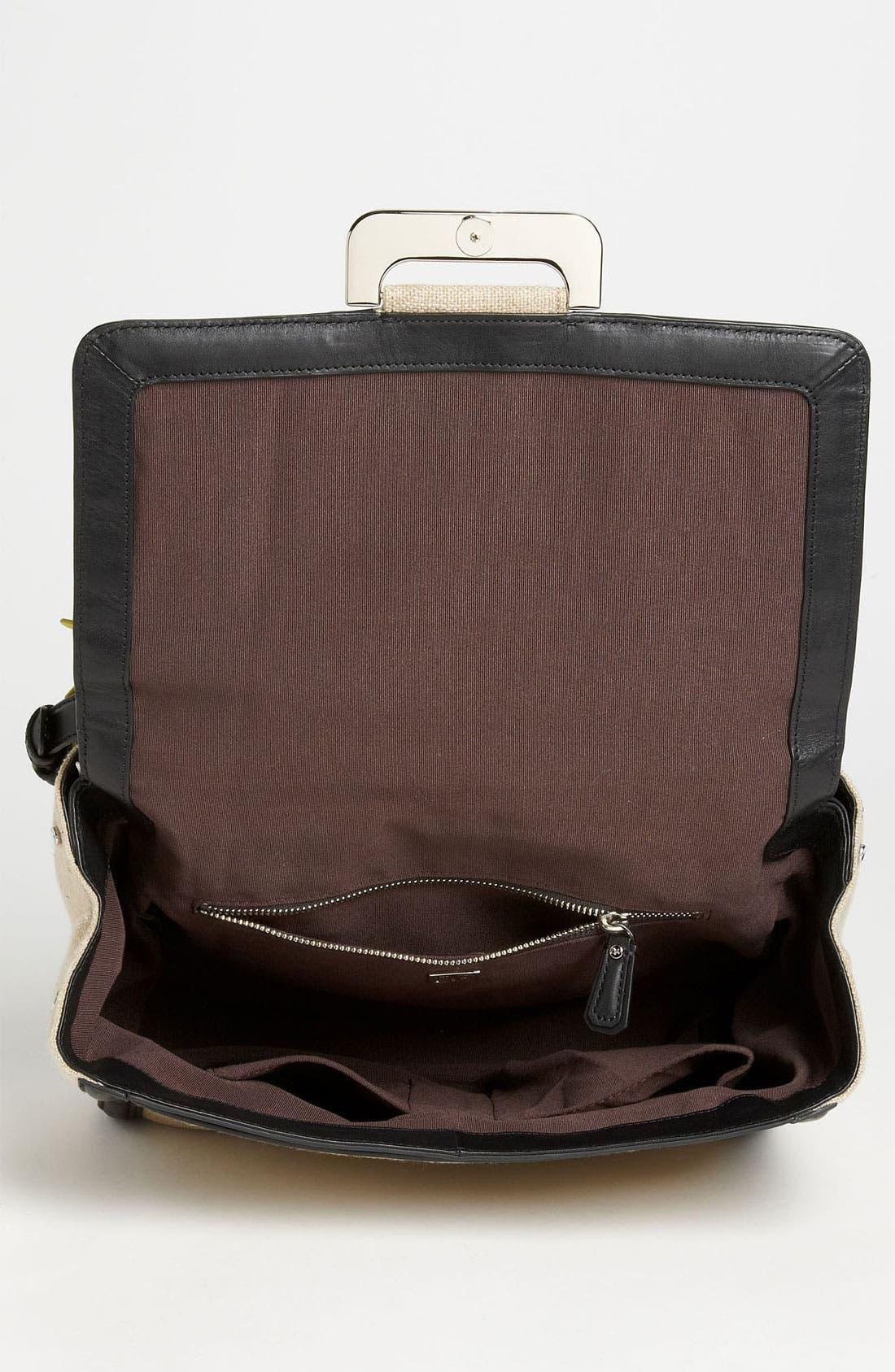 Alternate Image 3  - Diane von Furstenberg 'New Harper' Linen Shoulder Bag