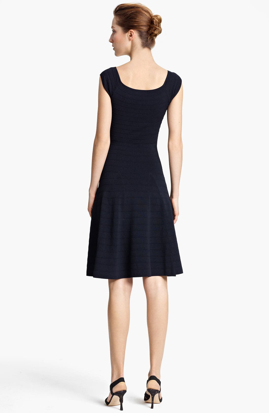 Alternate Image 2  - Donna Karan Collection Ottoman Fit & Flare Dress