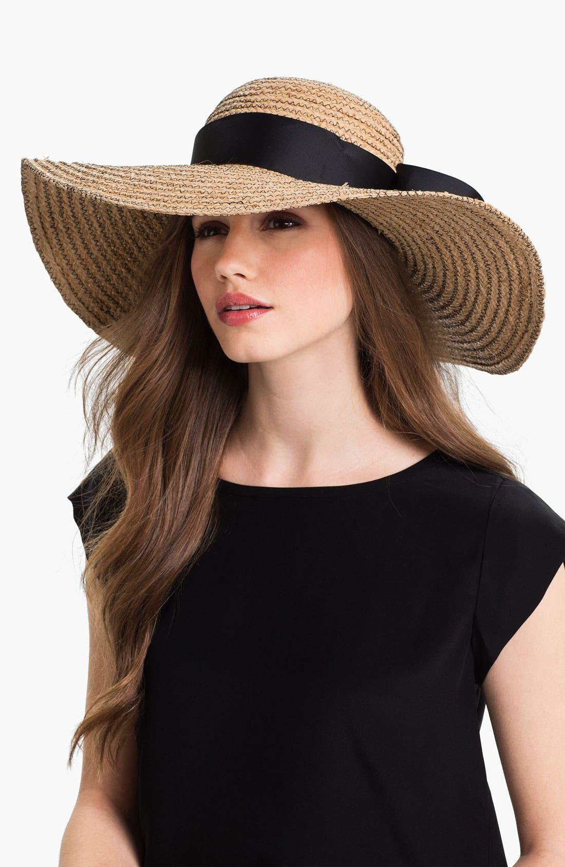 Main Image - Jonathan Adler Floppy Straw Sun Hat