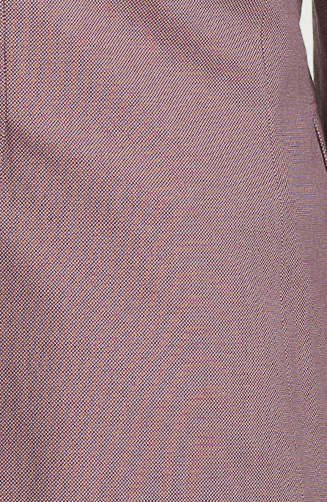 Alternate Image 3  - HUGO 'Aeris' Trim Fit Bird's Eye Sportcoat