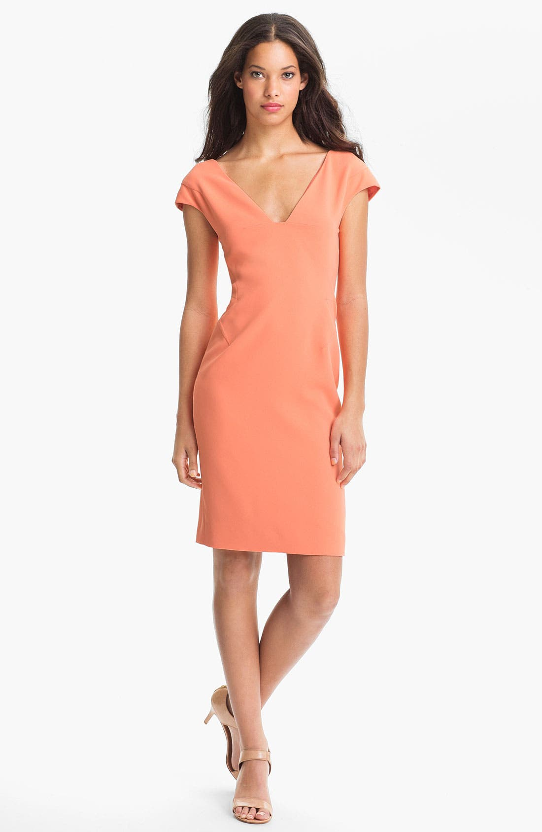 Main Image - Rachel Roy Cap Sleeve Dress