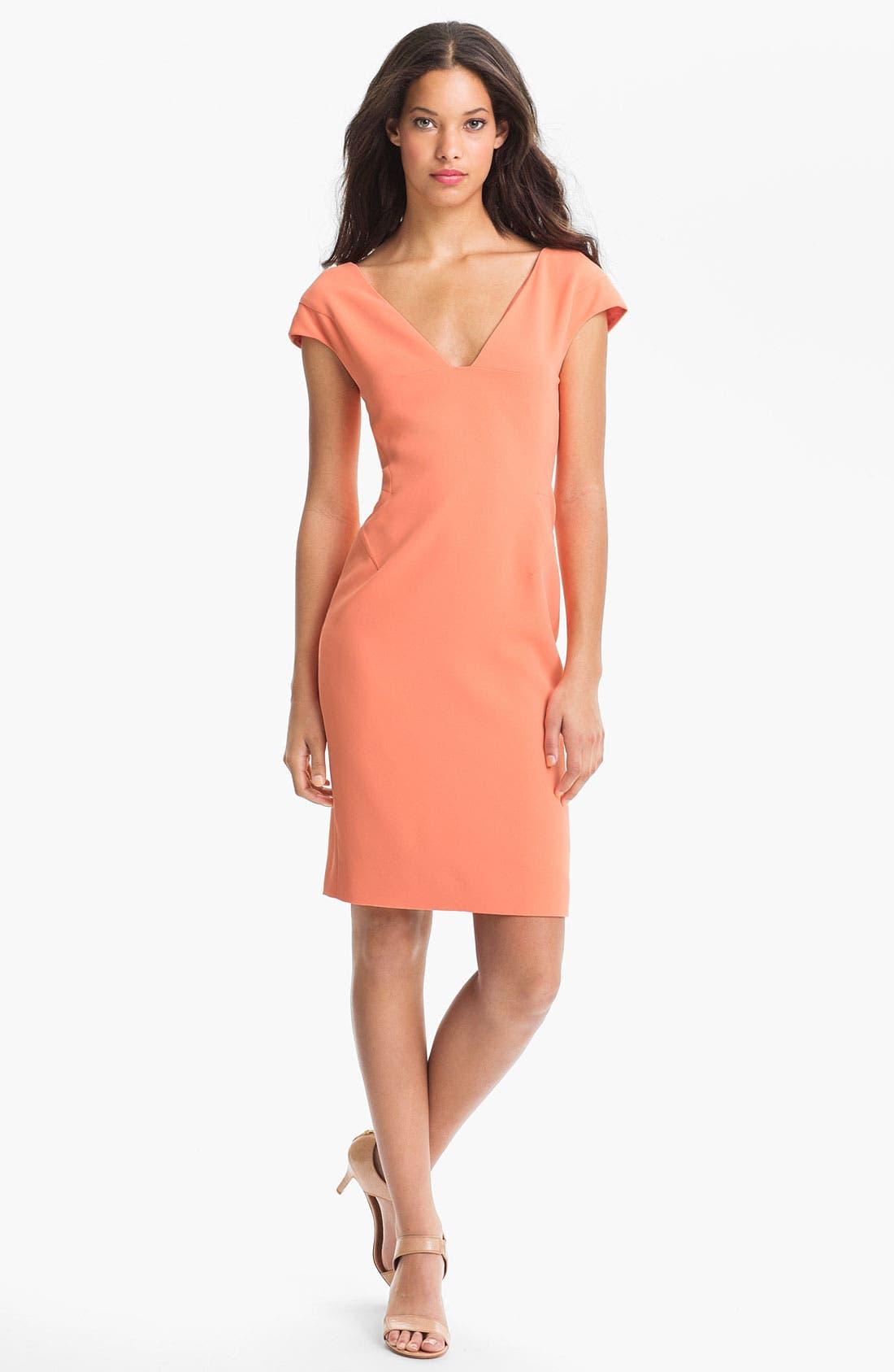 Main Image - Rachel Roy Cap Sleeve Dress