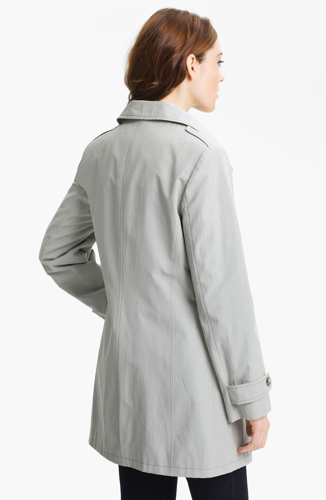 Alternate Image 3  - Cinzia Rocca Convertible Collar Coat