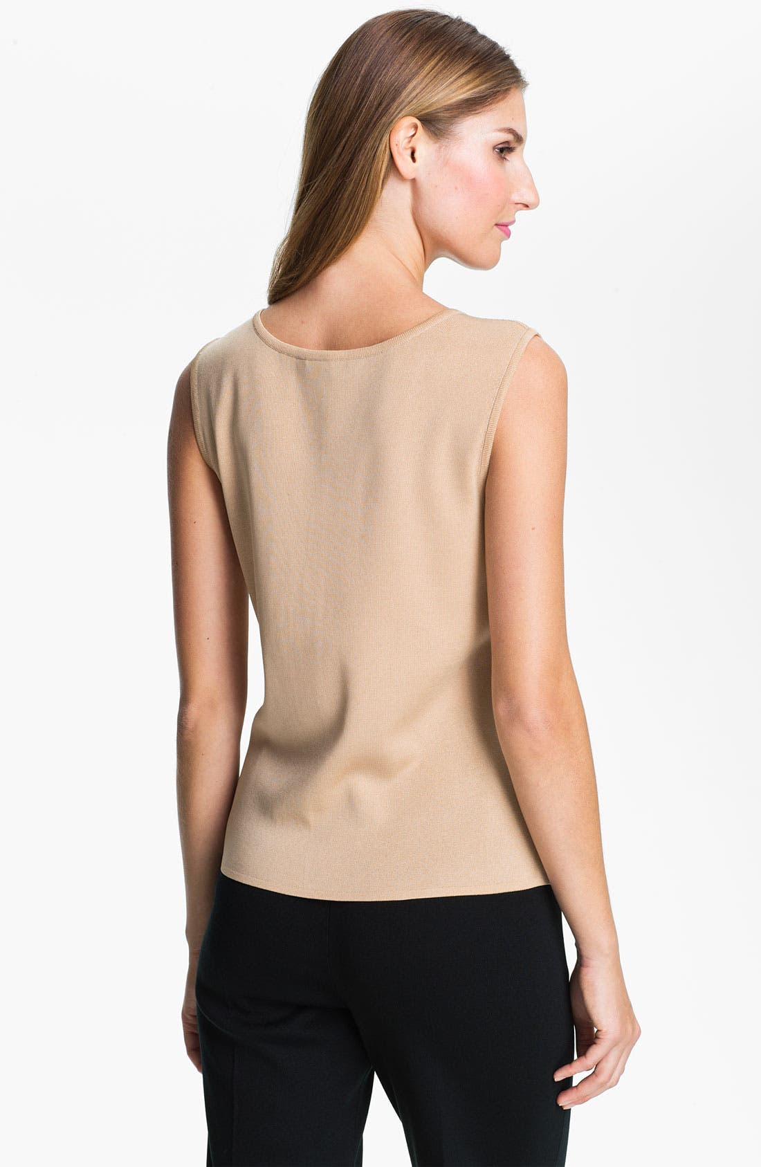 Alternate Image 2  - Ming Wang Scoop Neck Tank