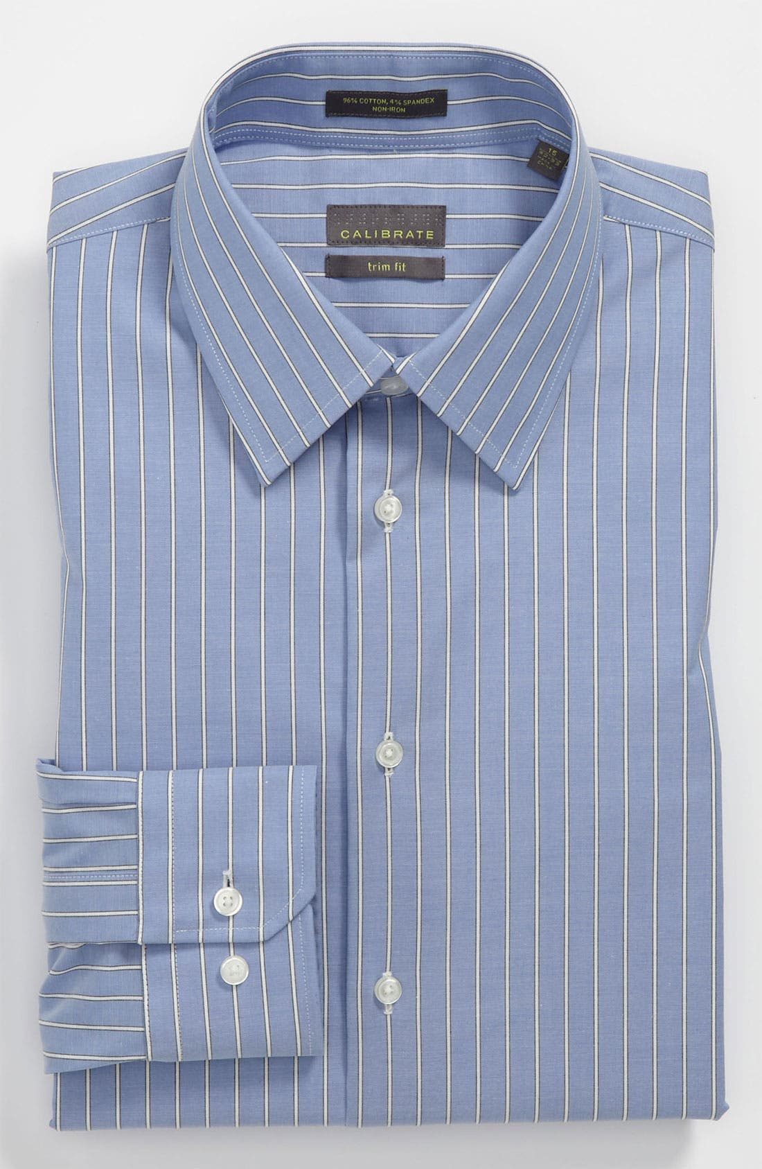 Alternate Image 1 Selected - Calibrate Trim Fit Non-Iron Dress Shirt