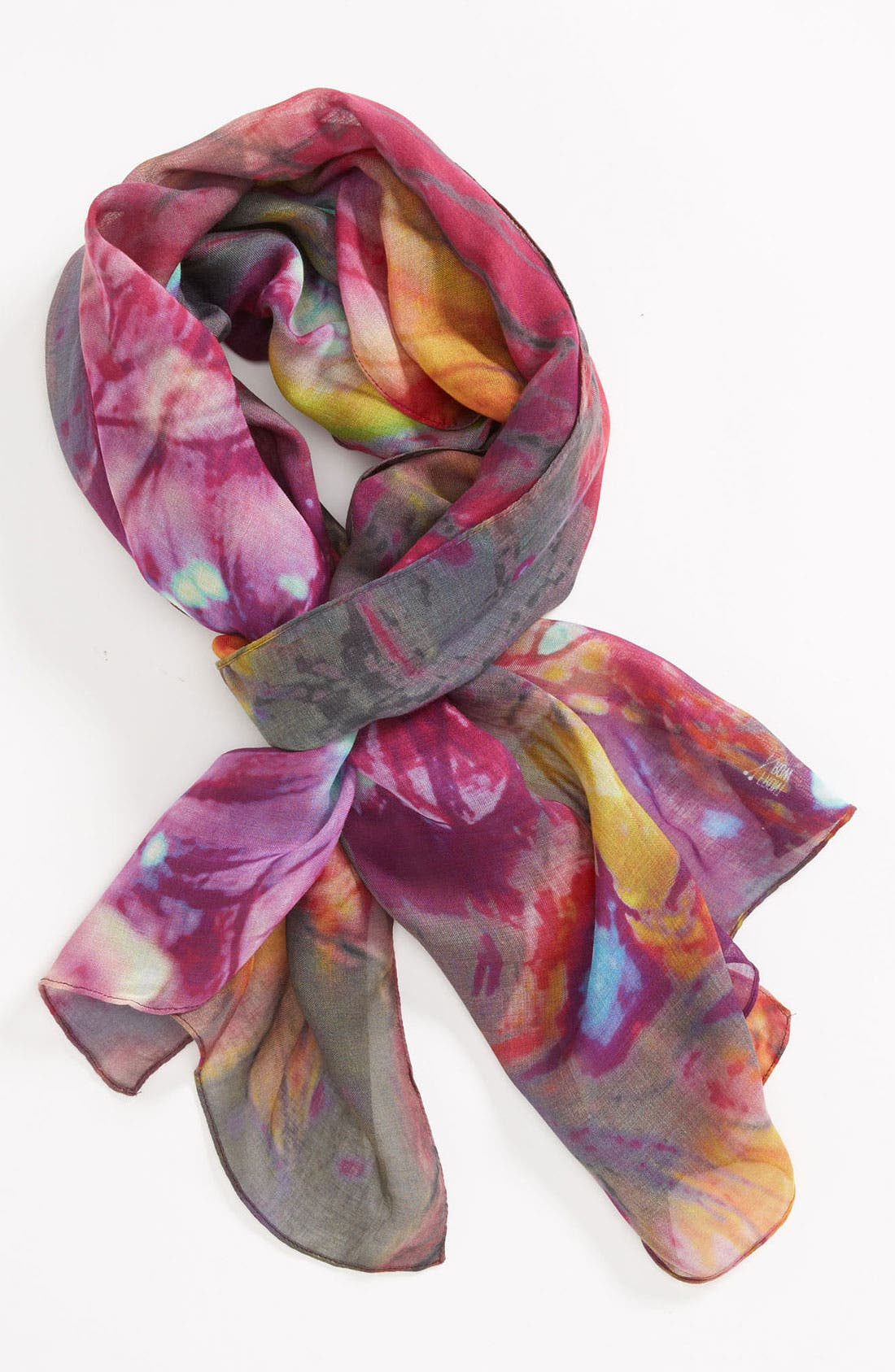 Alternate Image 1 Selected - Front Row Society 'Floral Electricity' Scarf