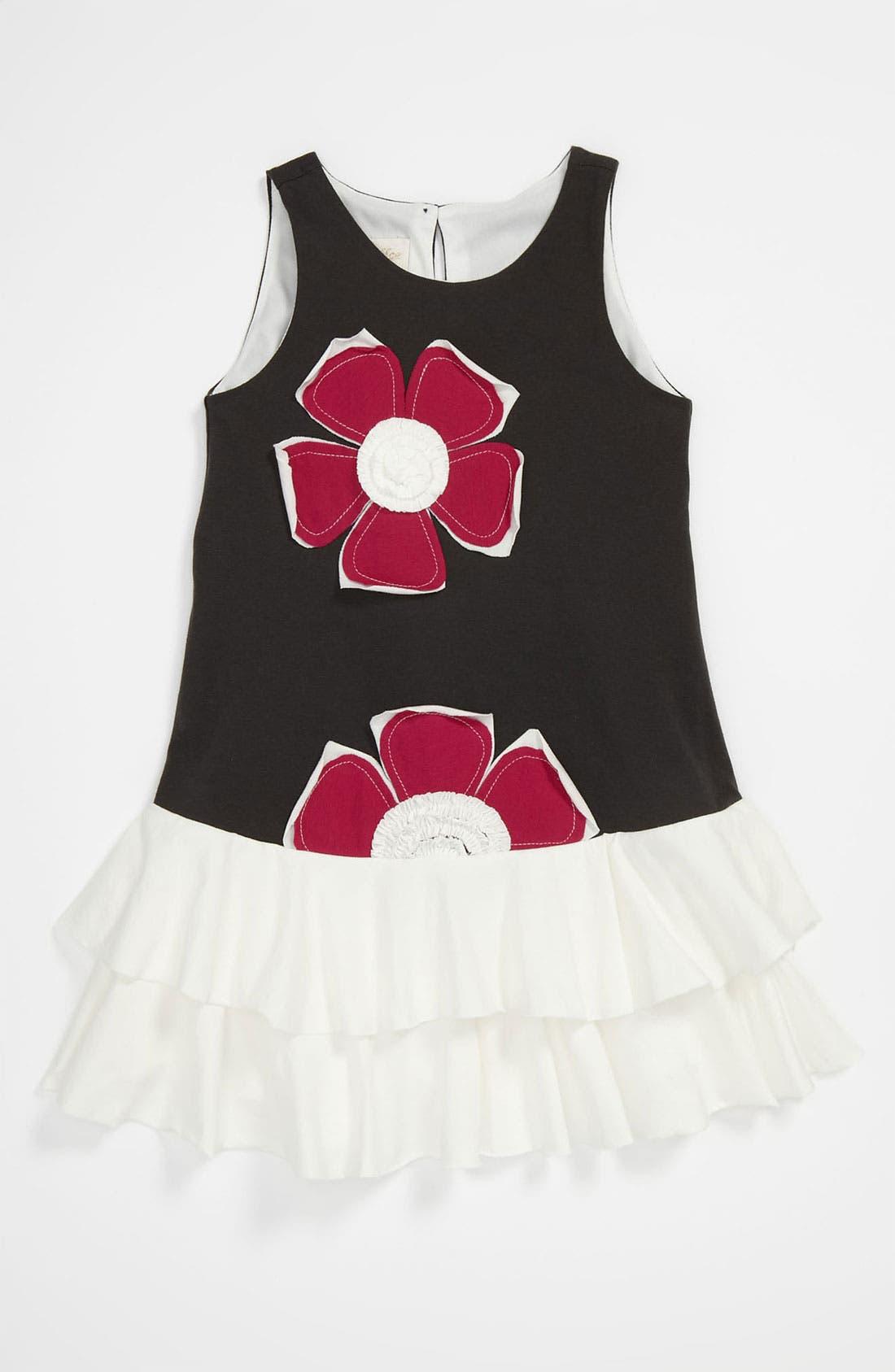 Alternate Image 1 Selected - Isobella & Chloe 'Holly' Dress (Toddler)
