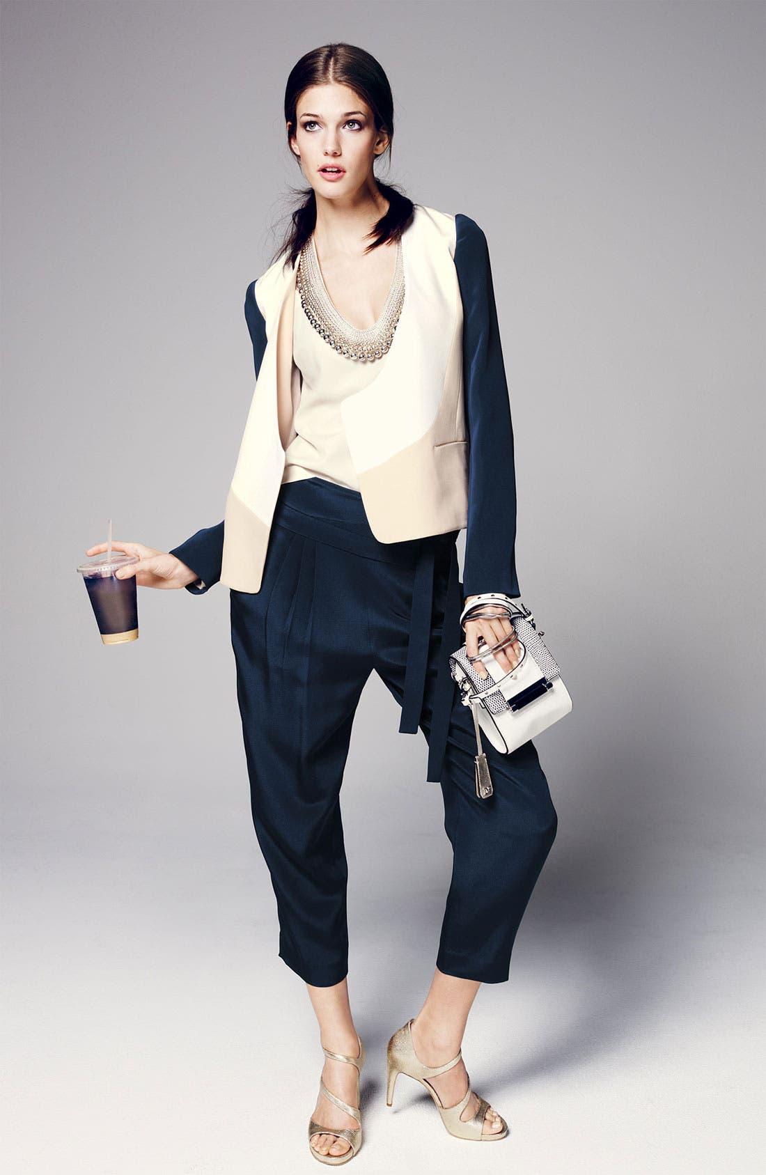 Alternate Image 4  - Diane von Furstenberg 'Keaka' Capri Pants