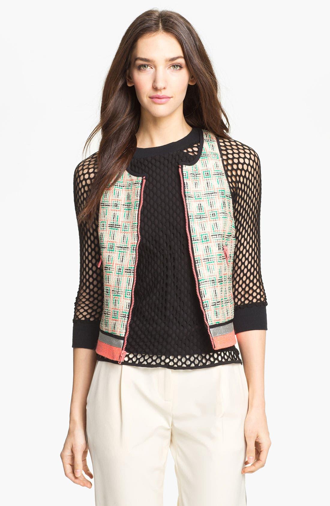 Alternate Image 1 Selected - Milly Tweed Vest