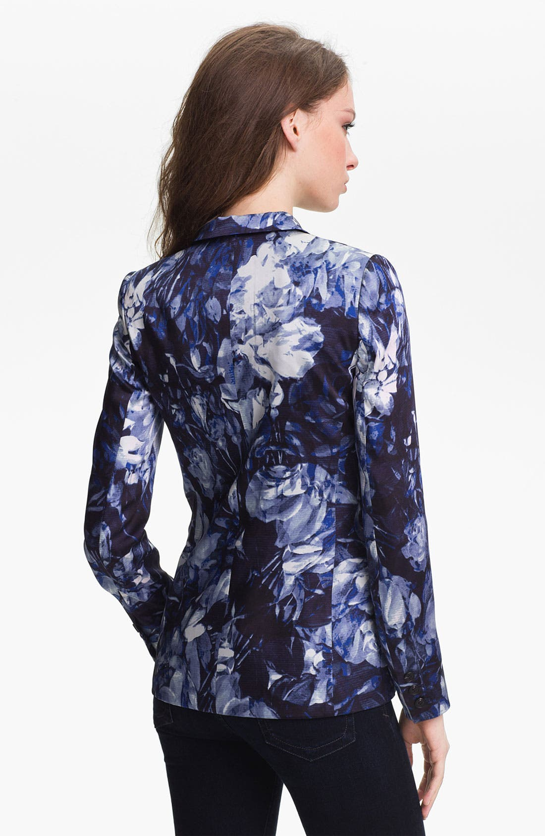 Alternate Image 2  - Vince Camuto Floral Print Blazer