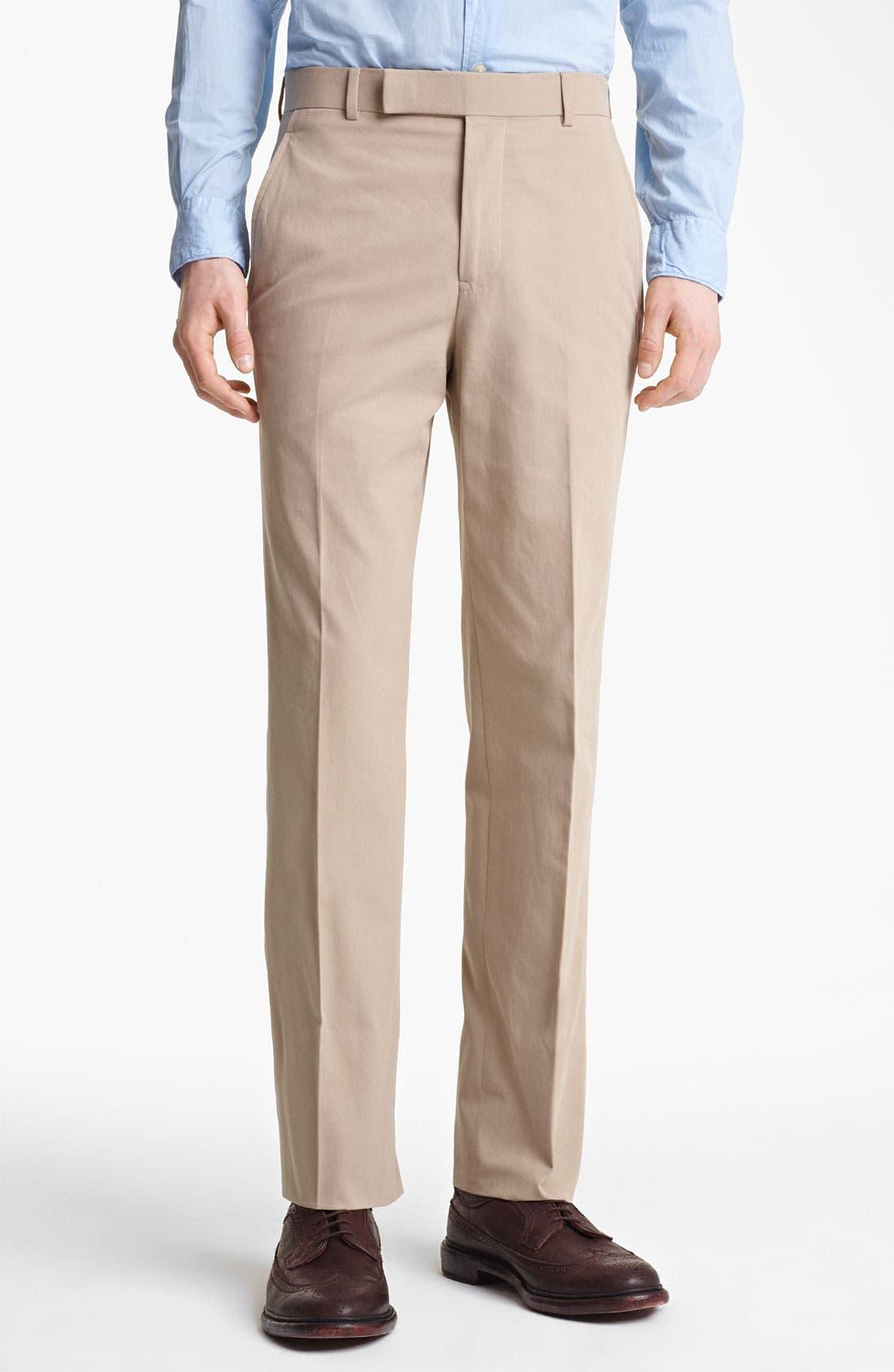 Alternate Image 4  - Billy Reid 'Campbell' Cotton Suit