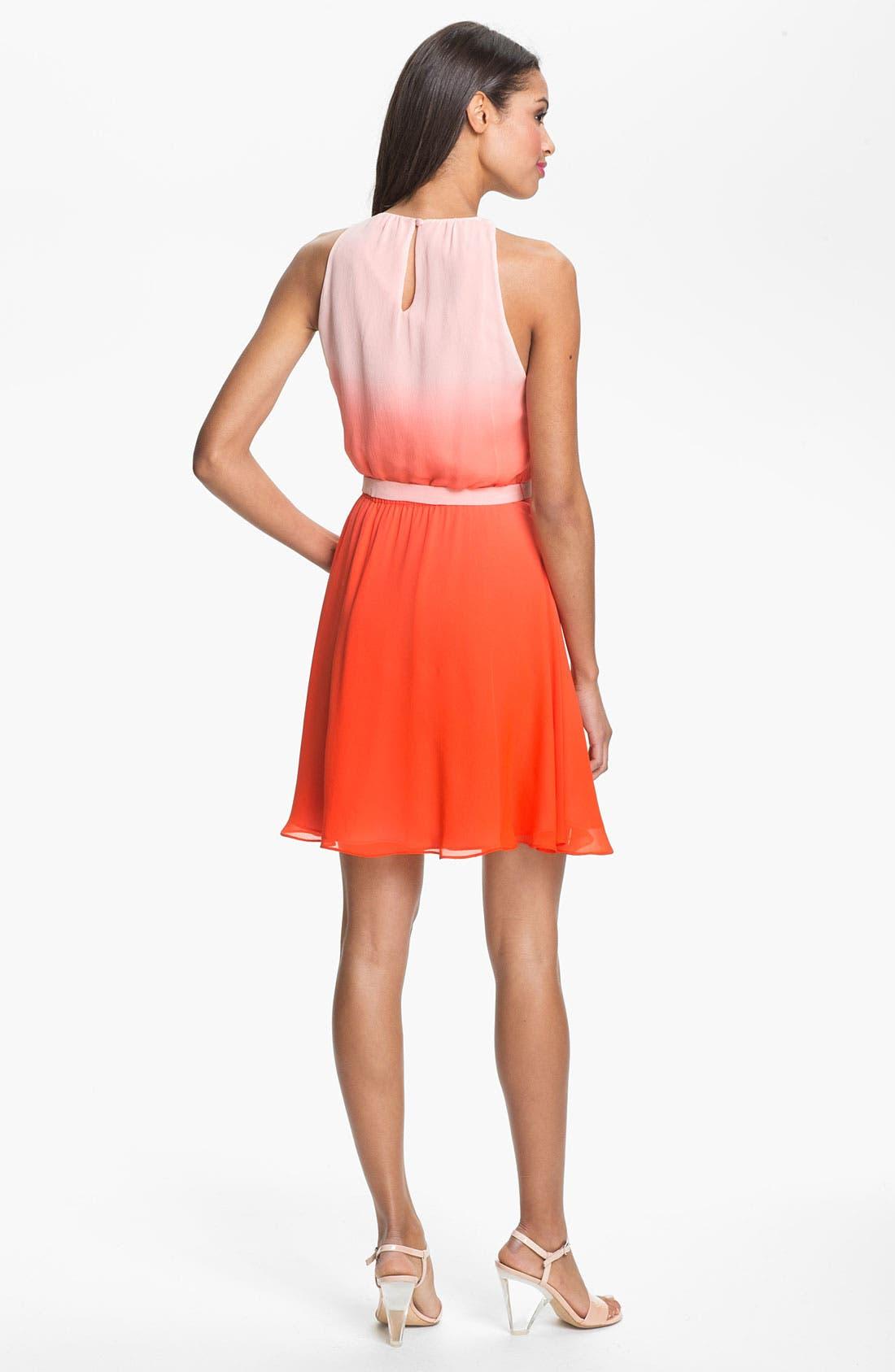 Alternate Image 2  - ERIN erin fetherston Ombré Silk Chiffon Dress