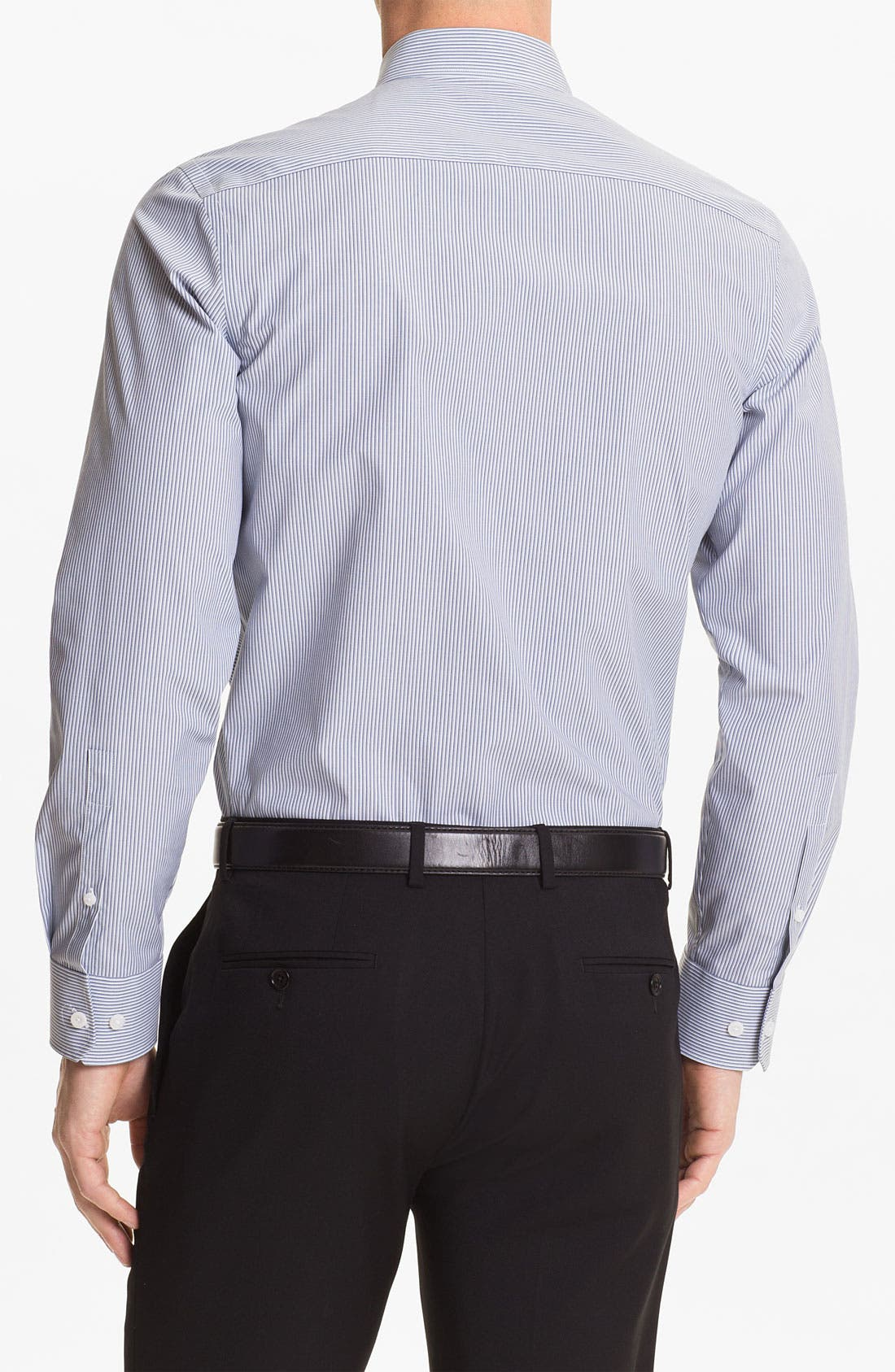 Alternate Image 2  - Calibrate Non Iron Regular Fit Sport Shirt