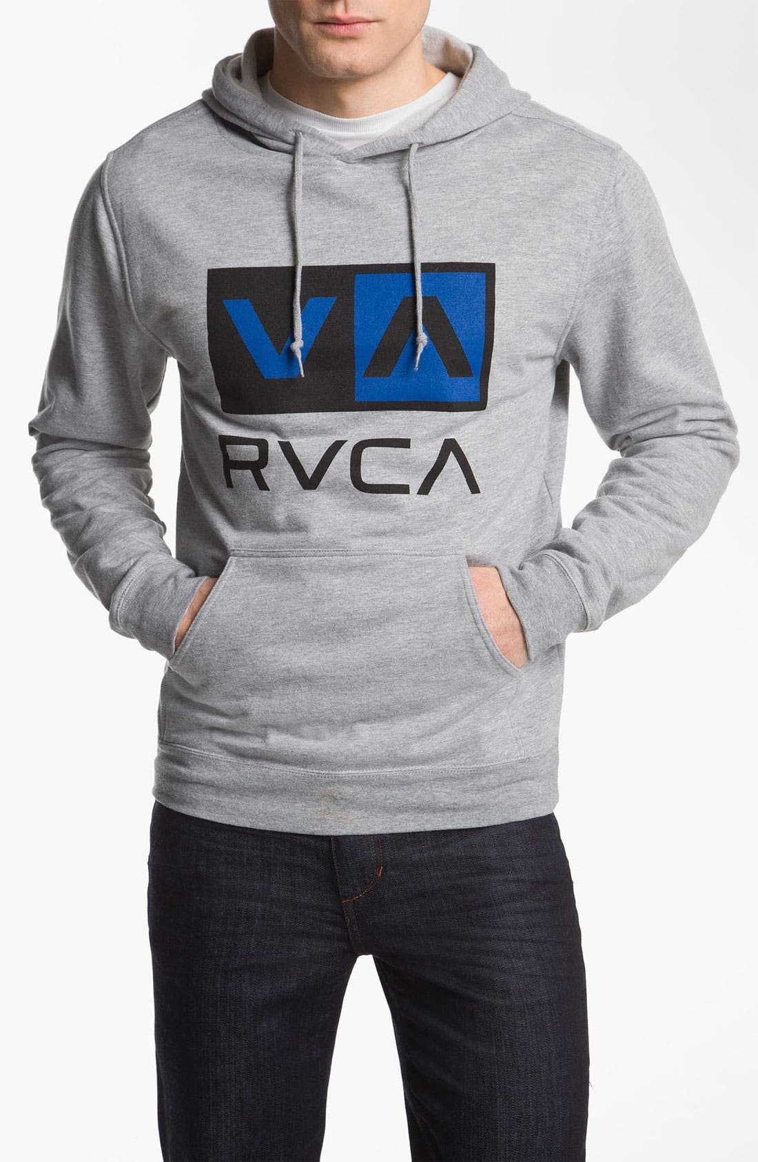 Main Image - RVCA 'Balance Box' Hooded Sweatshirt