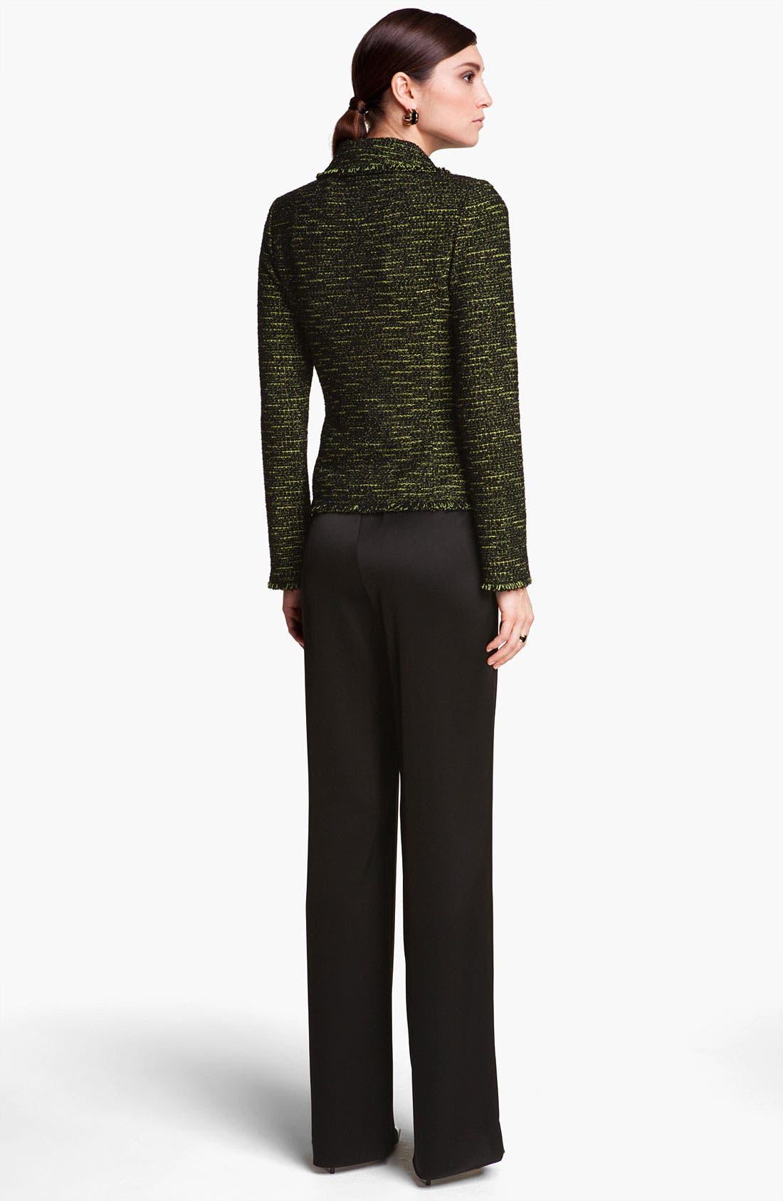 Alternate Image 3  - St. John Collection Fringe Tweed Jacket