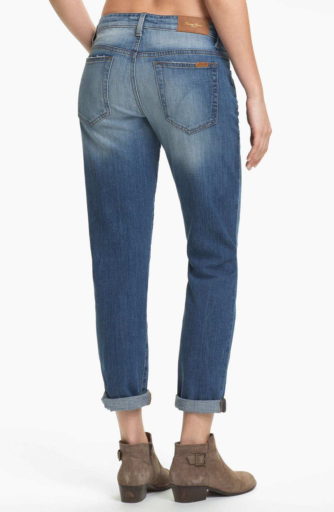 Alternate Image 2  - Joe's 'Easy Highwater' Relaxed Stretch Denim Jeans (Mazy)