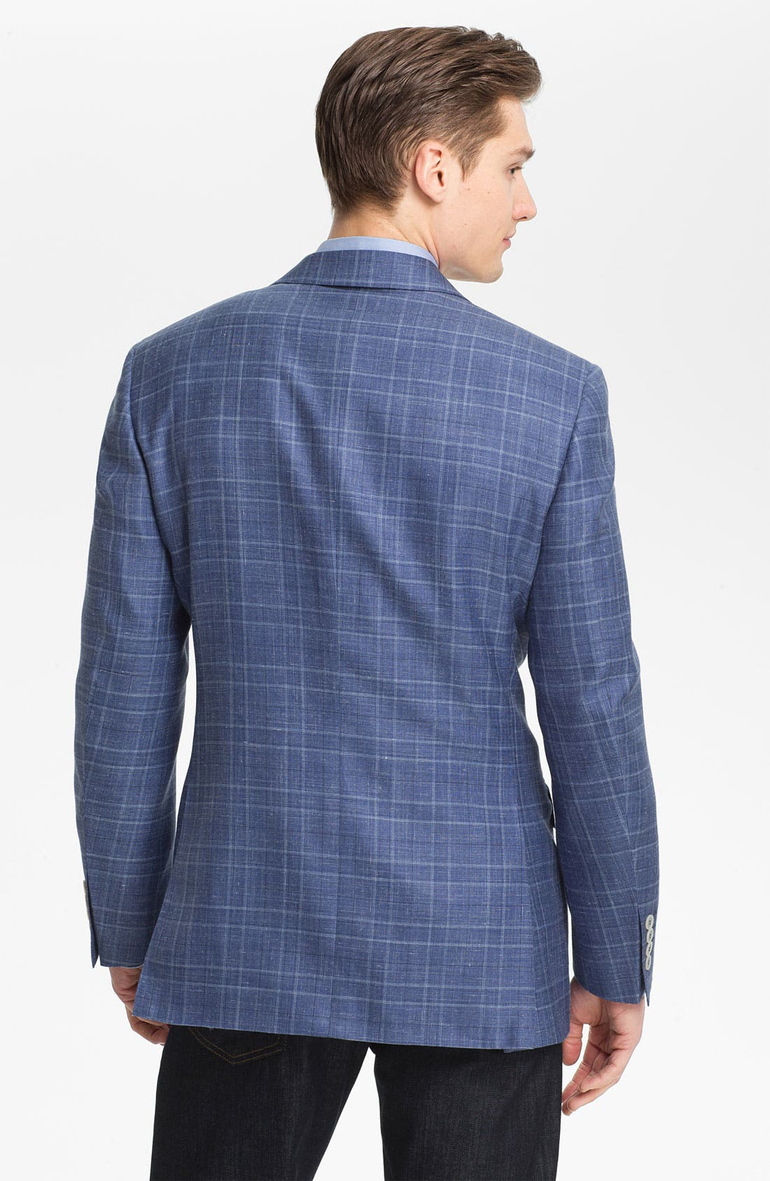 Alternate Image 2  - Canali Plaid Sportcoat