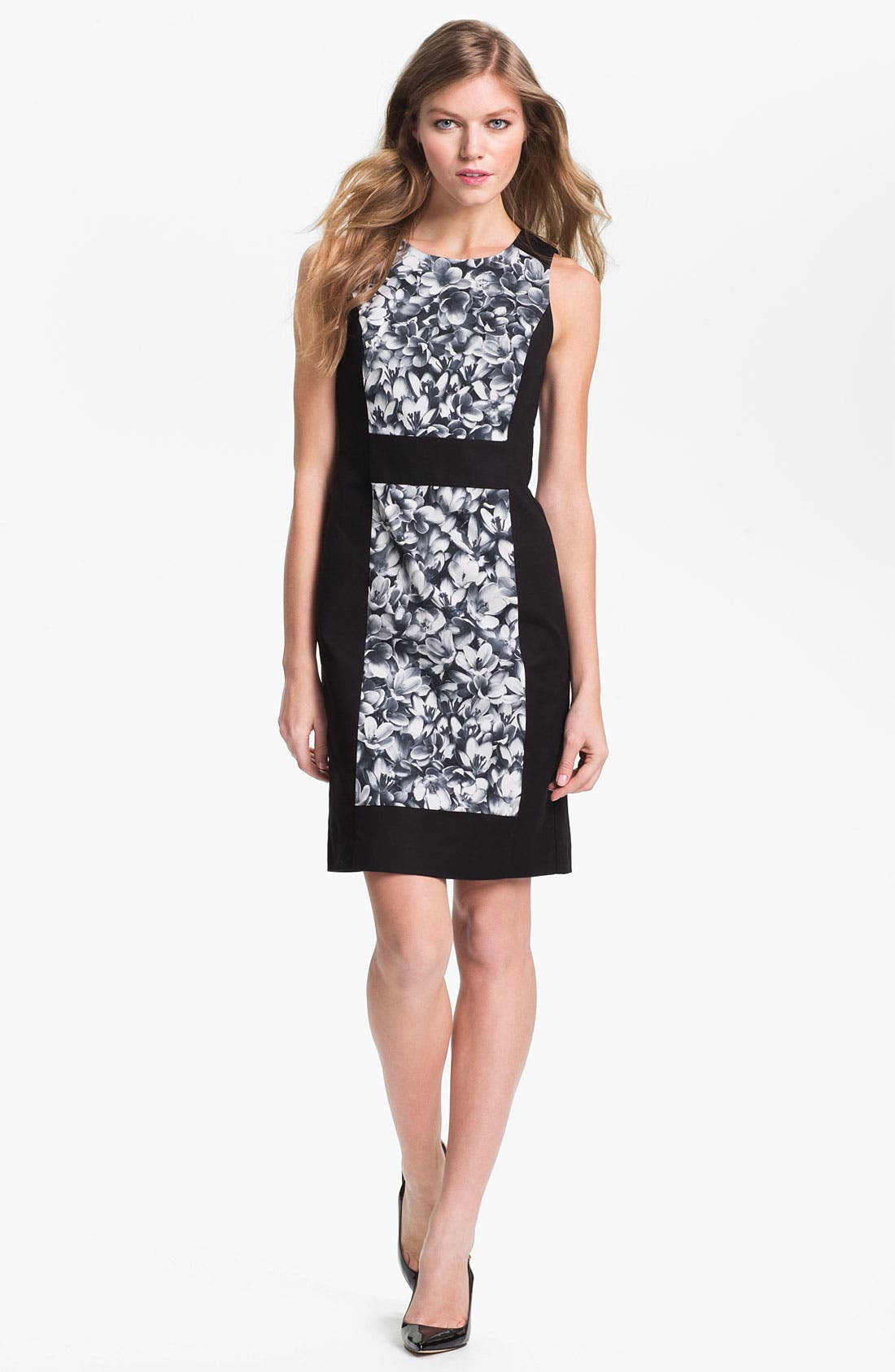 Alternate Image 1 Selected - MICHAEL Michael Kors Sleeveless Colorblock Dress