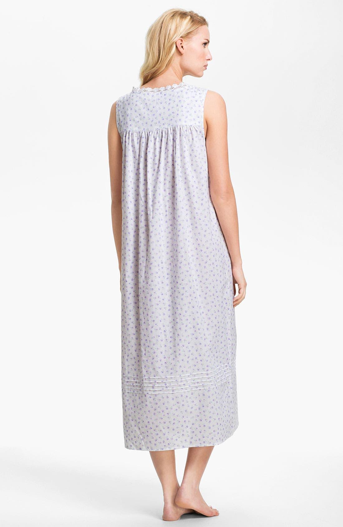 Alternate Image 2  - Eileen West 'Beautiful Heart' Nightgown