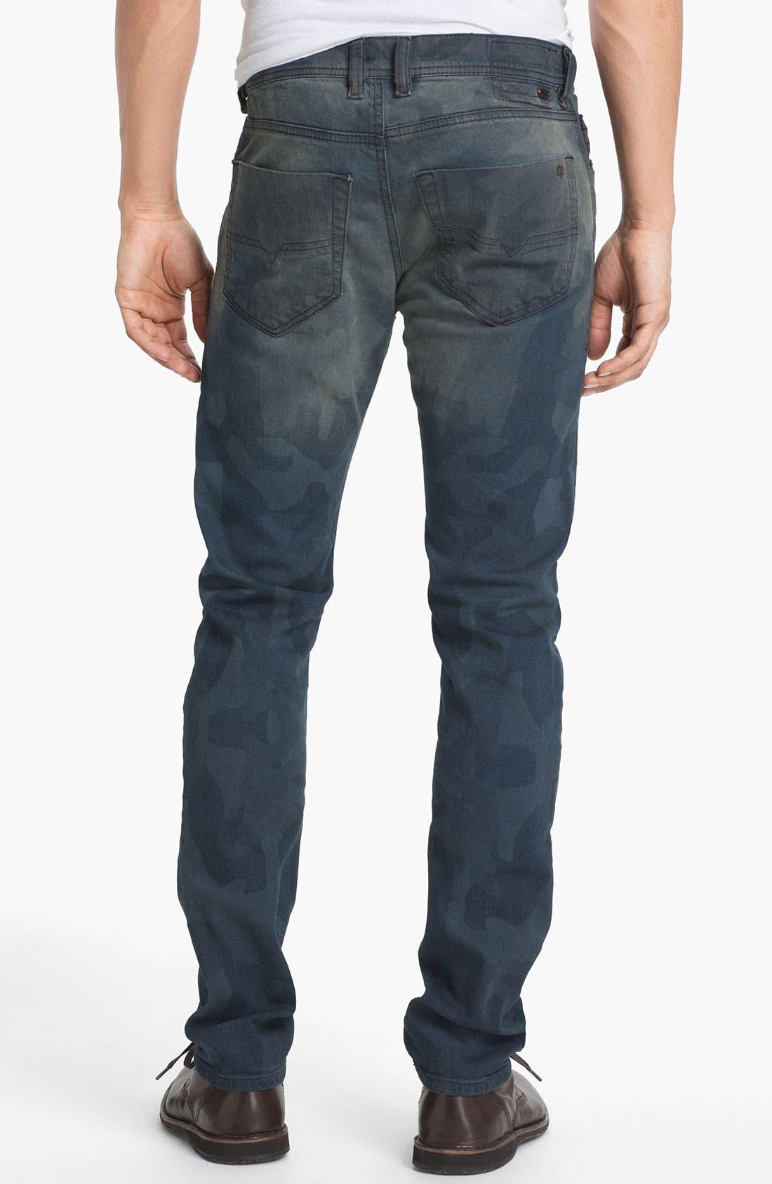 Main Image - DIESEL® 'Tepphar' Camo Slim Tapered Leg Jeans