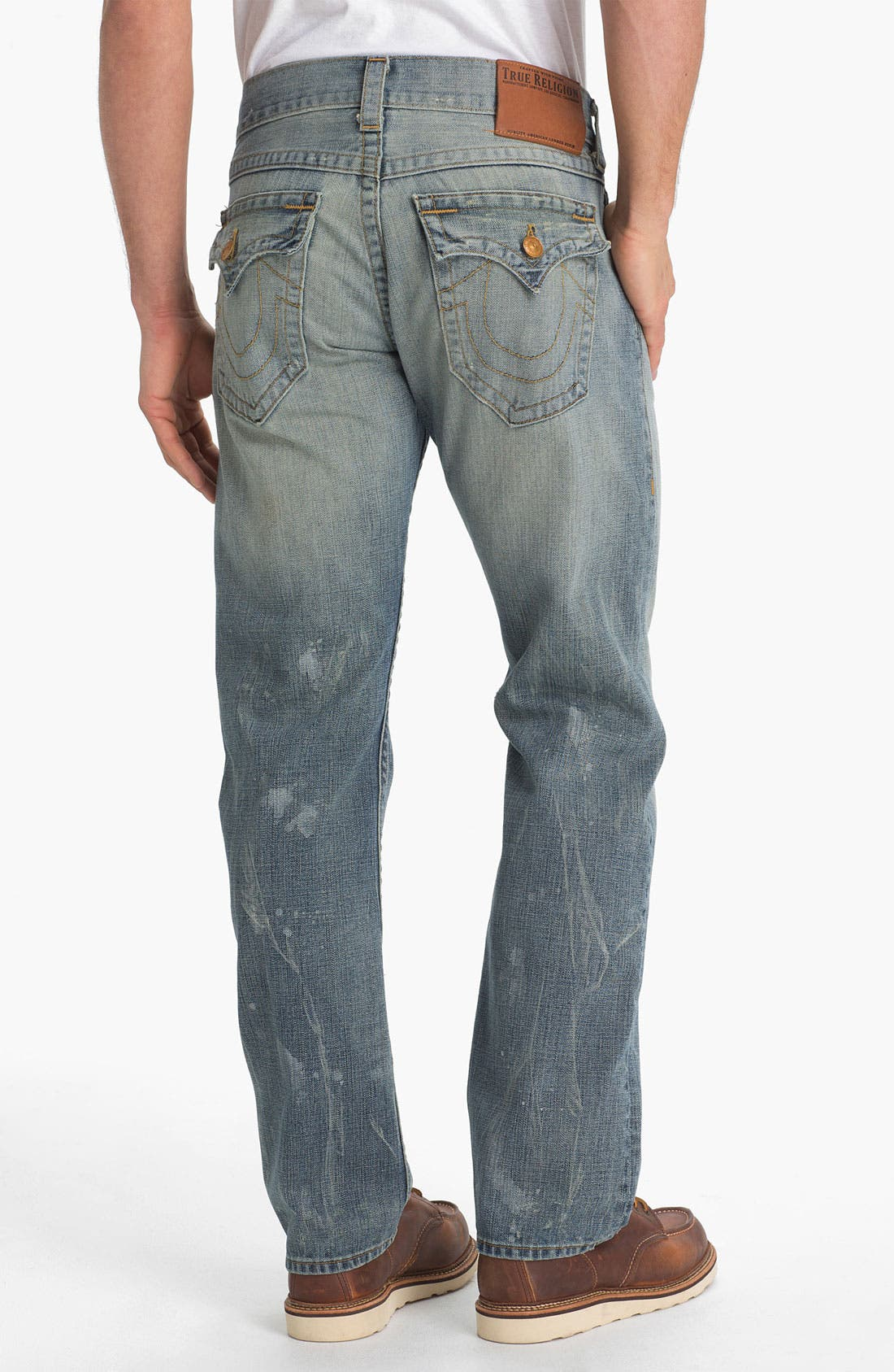 Alternate Image 1 Selected - True Religion Brand Jeans 'Ricky' Straight Leg Jeans (Mule Skinner)