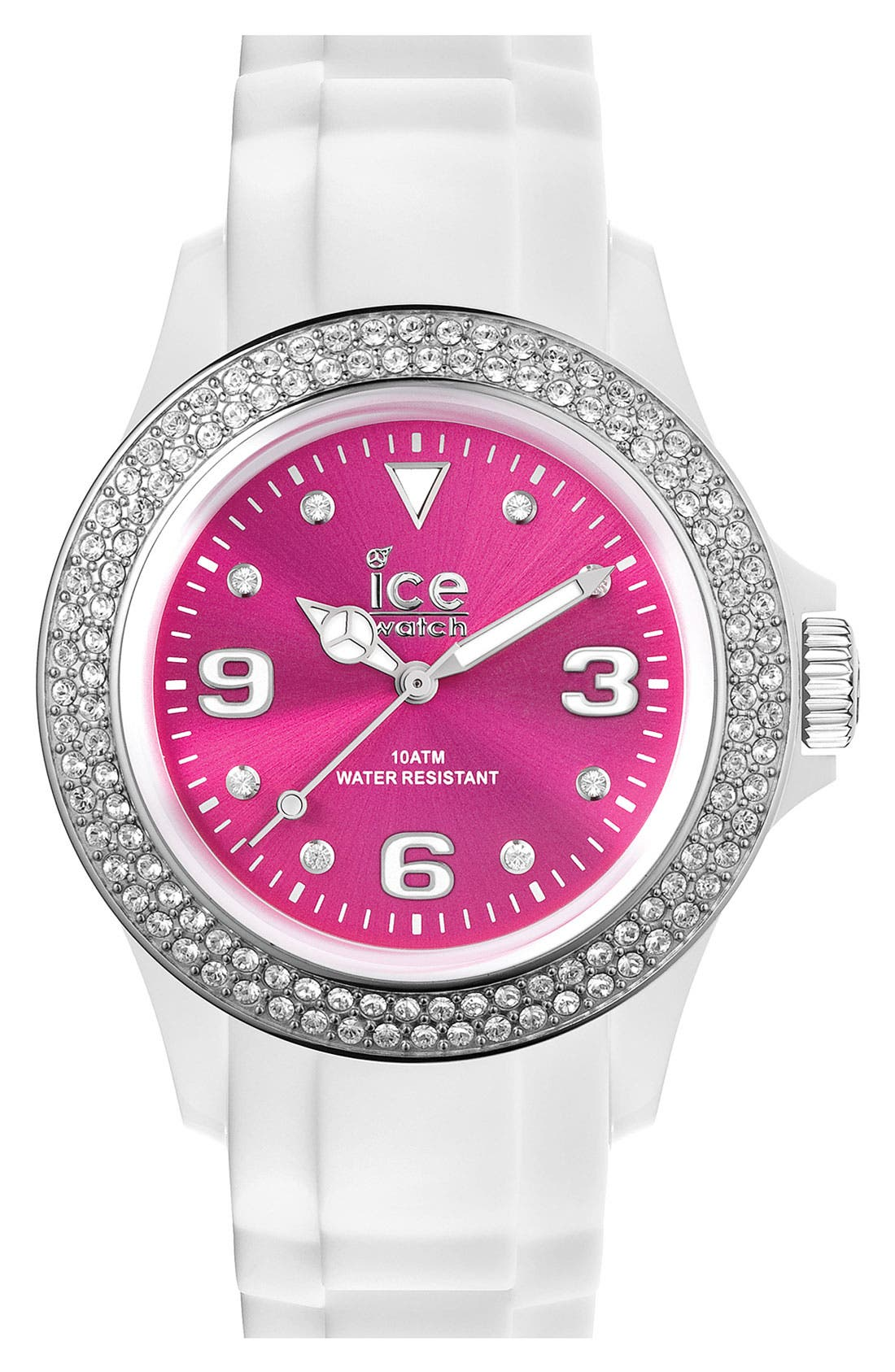 Main Image - ICE Watch Color Dial Crystal Bezel Watch, 43mm
