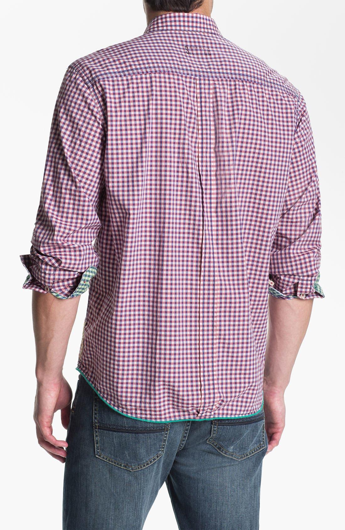 Alternate Image 2  - Tommy Bahama Denim 'Cape Check' Sport Shirt