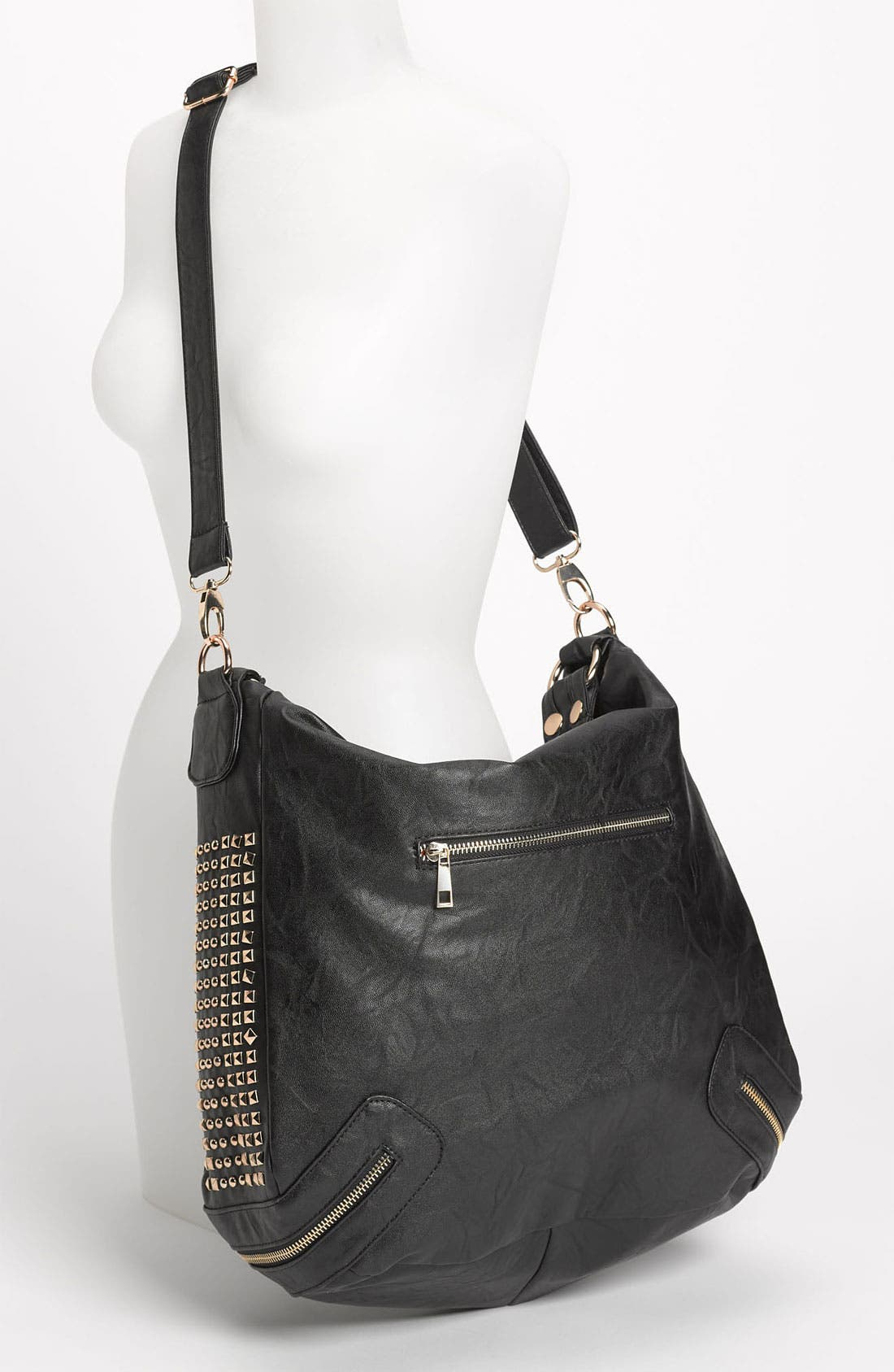 Alternate Image 2  - Top Choice Studded Convertible Hobo Bag