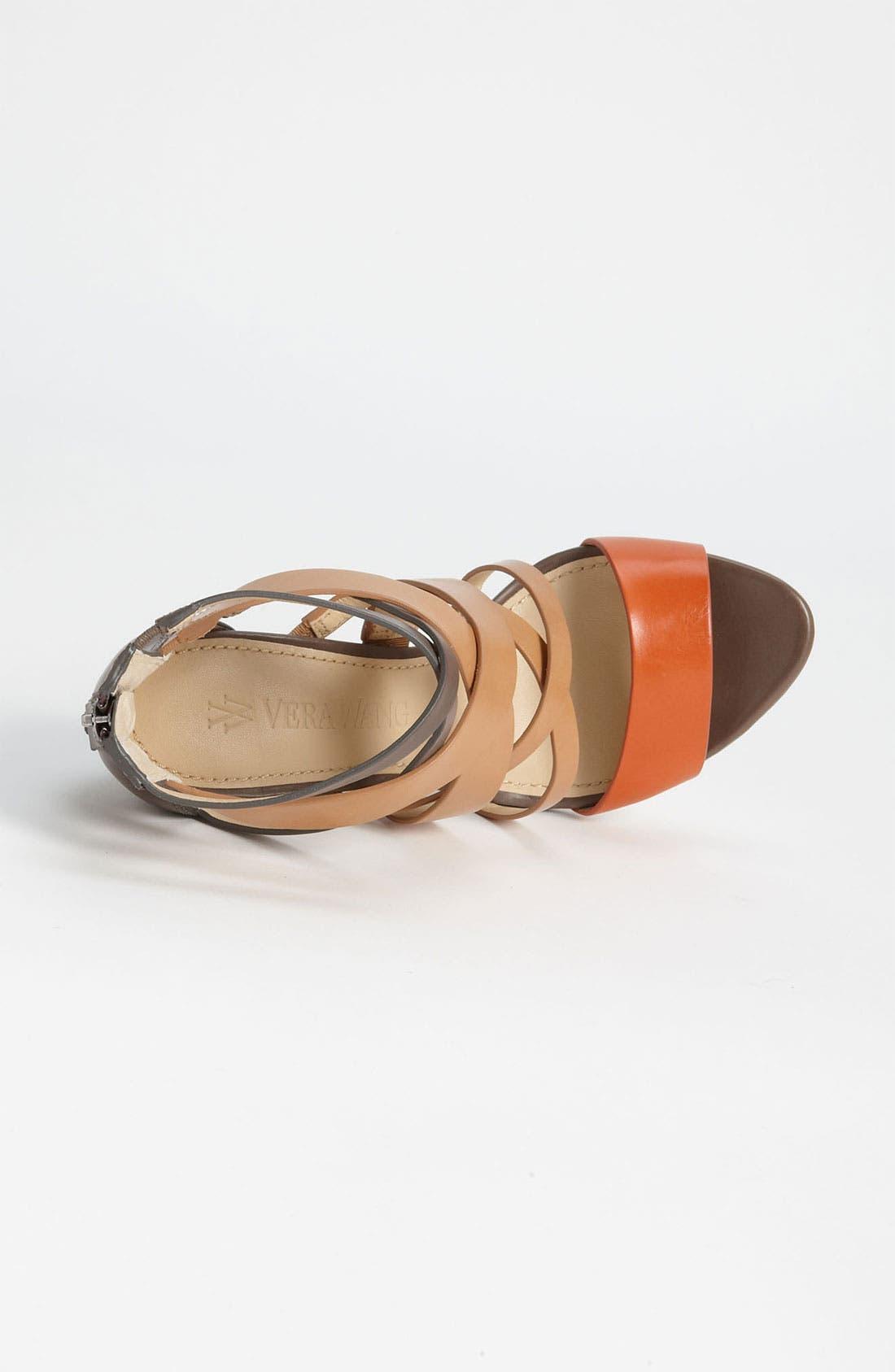 Alternate Image 3  - Vera Wang Footwear 'Hinda High' Sandal (Online Only)