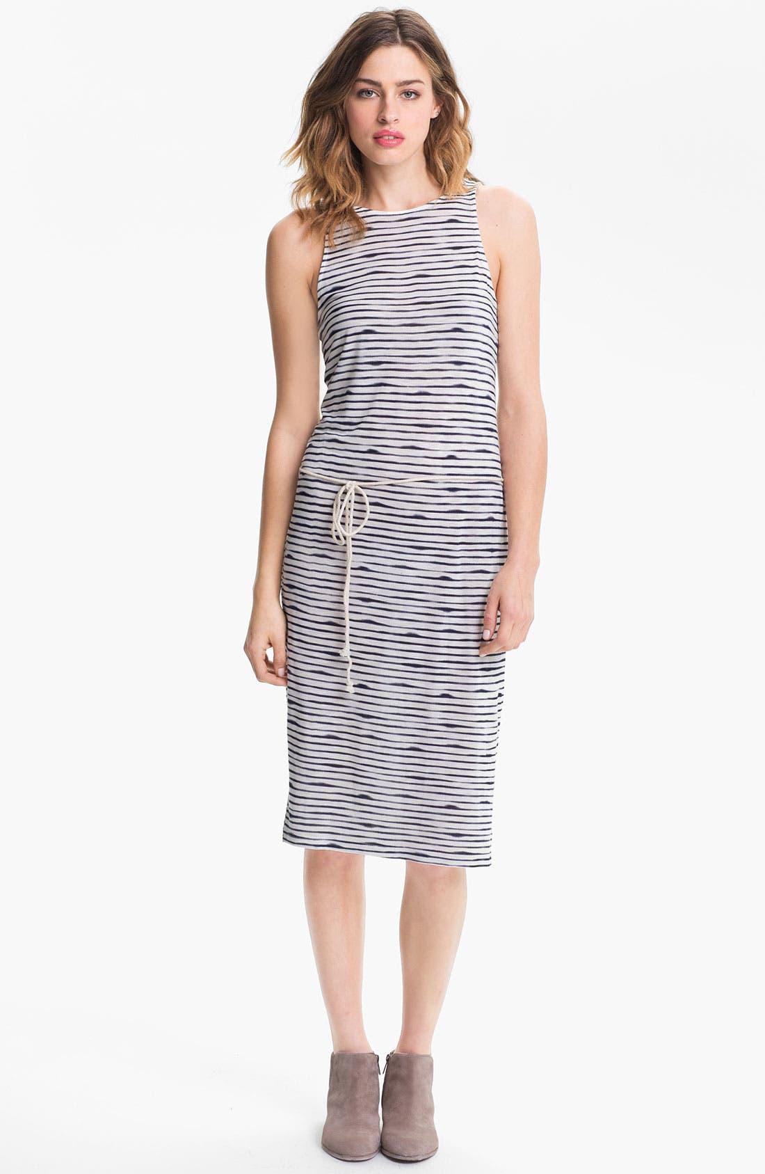 Alternate Image 1 Selected - Soft Joie 'Mimi' Slub Stripe Midi Tank Dress