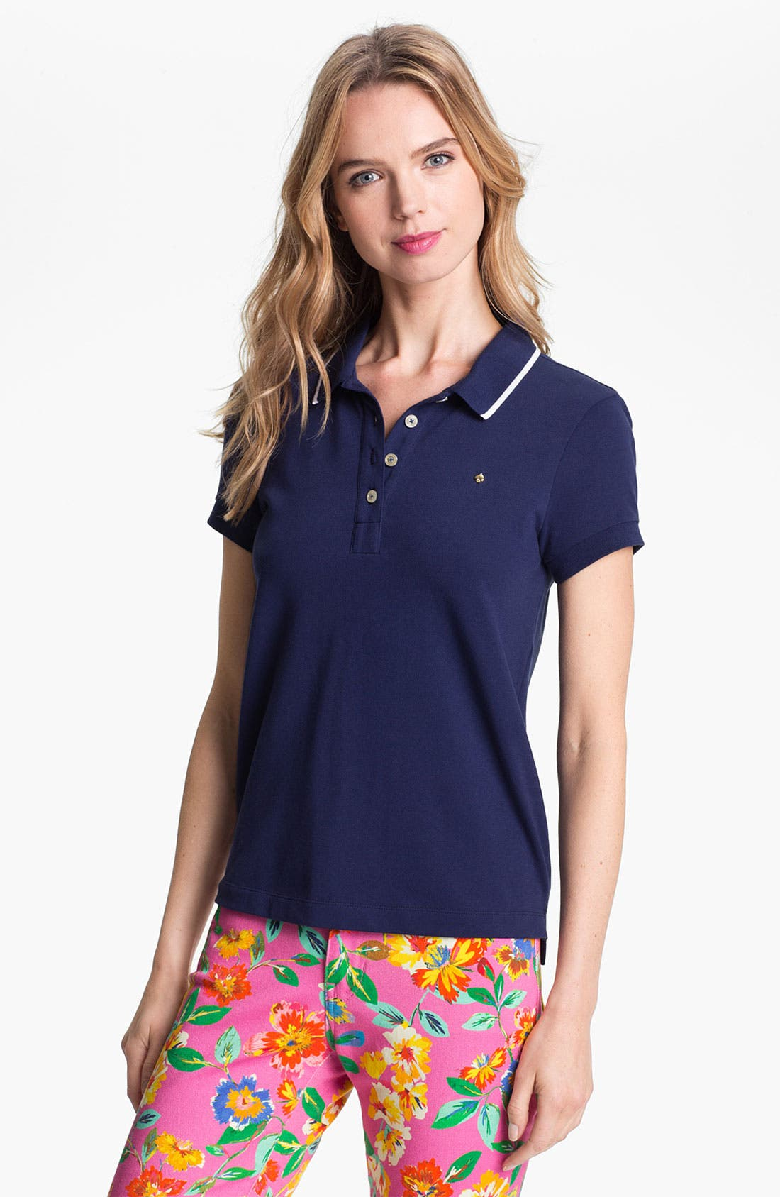 Alternate Image 1 Selected - kate spade new york 'spade' polo
