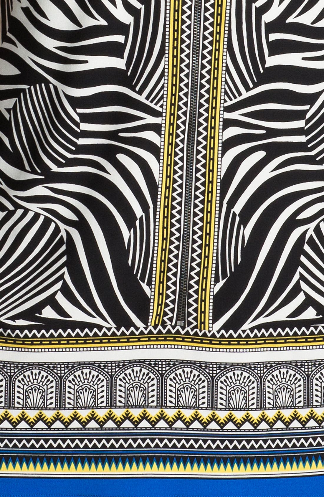 Alternate Image 3  - Laundry by Shelli Segal Print Jersey Dress (Petite)