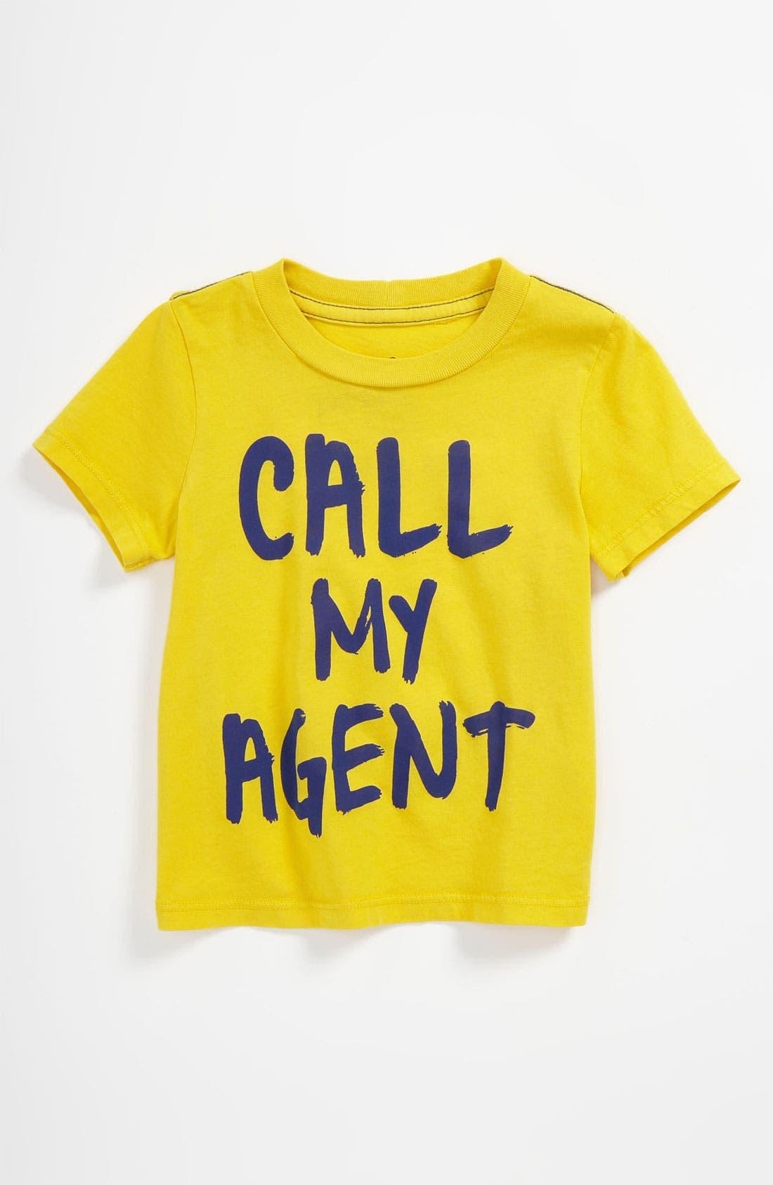 Alternate Image 1 Selected - Peek 'Call My Agent' Tee (Baby)