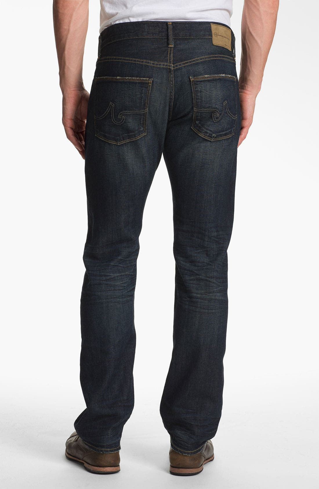 Alternate Image 2  - AG Jeans 'Geffen Easy Slim' Straight Leg Jeans (5 Years Raw Fade)