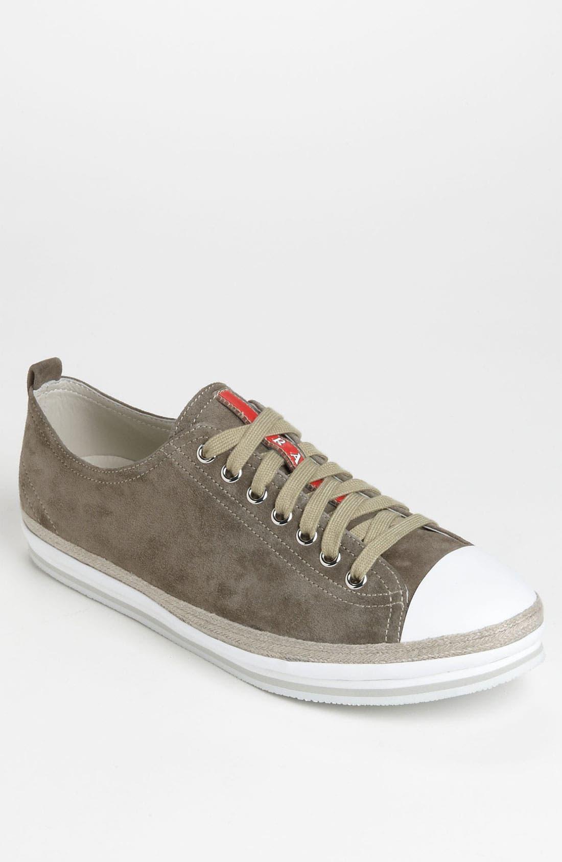 Alternate Image 1 Selected - Prada Low Profile Espadrille Sneaker