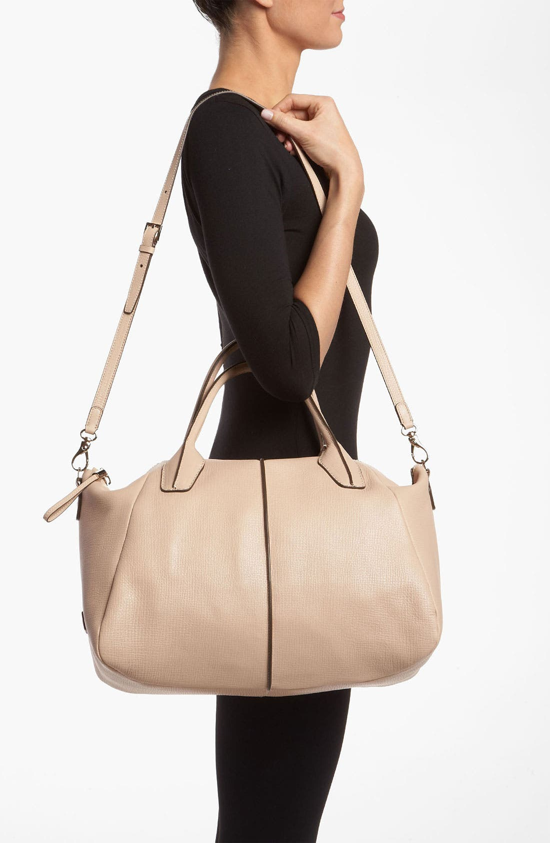 Alternate Image 2  - Tod's 'New D-Styling' Leather Shopper