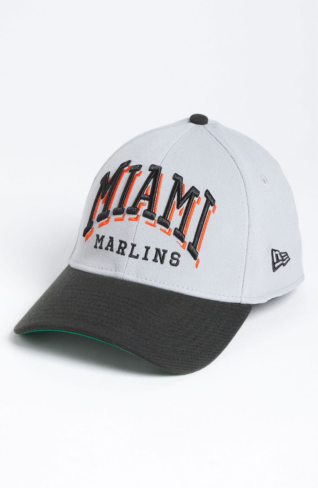 Alternate Image 1 Selected - New Era Cap 'Miami Marlins - Arch Mark' Fitted Baseball Cap