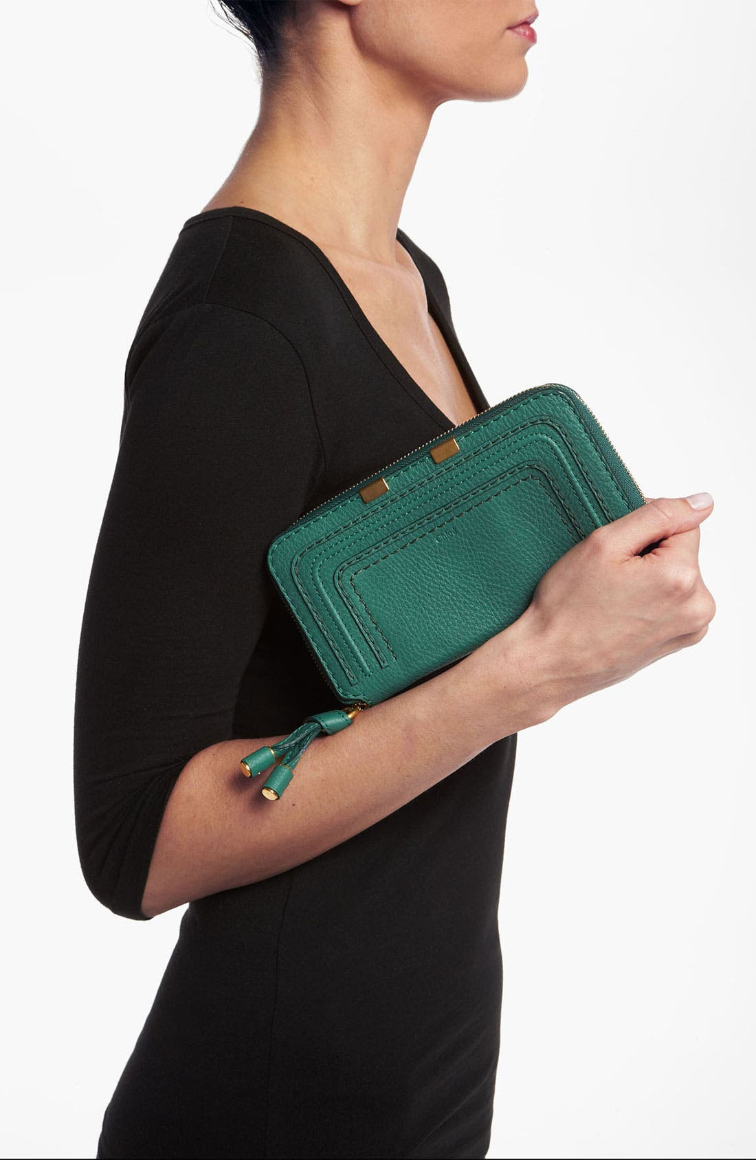 Alternate Image 2  - Chloé 'Marcie - Long' Zip Around Wallet