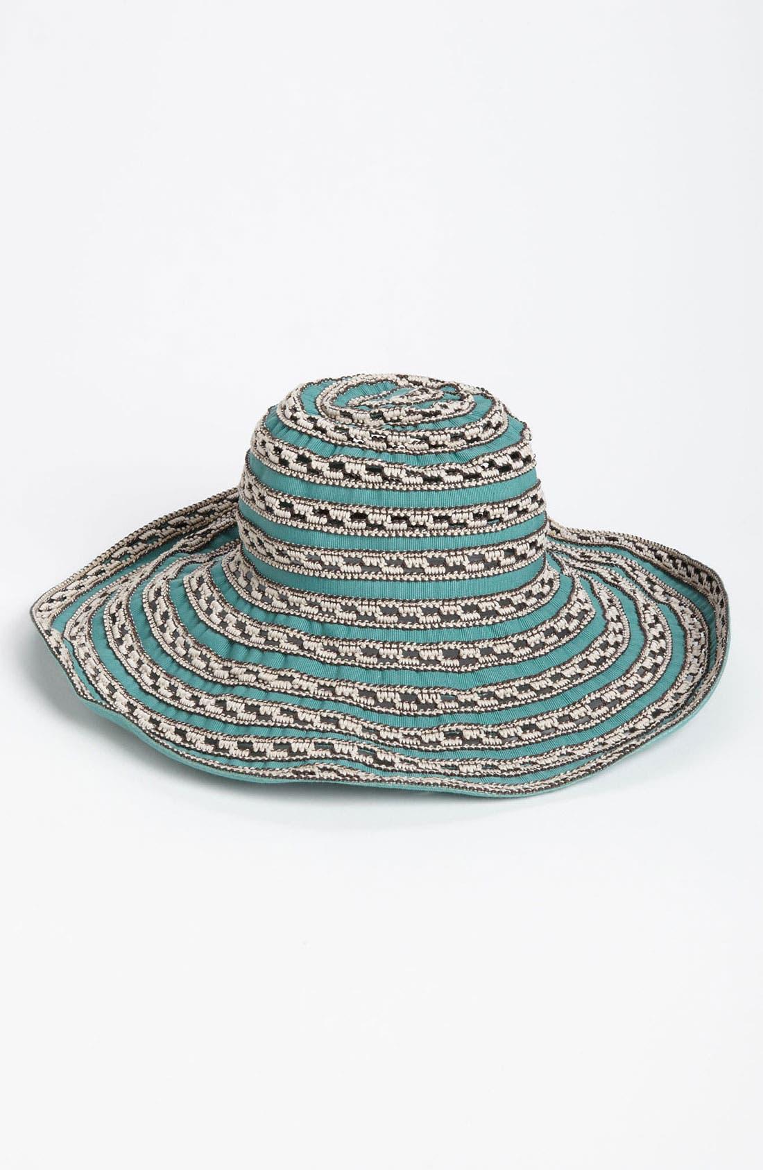 Alternate Image 1 Selected - Nordstrom 'Capello' Floppy Hat