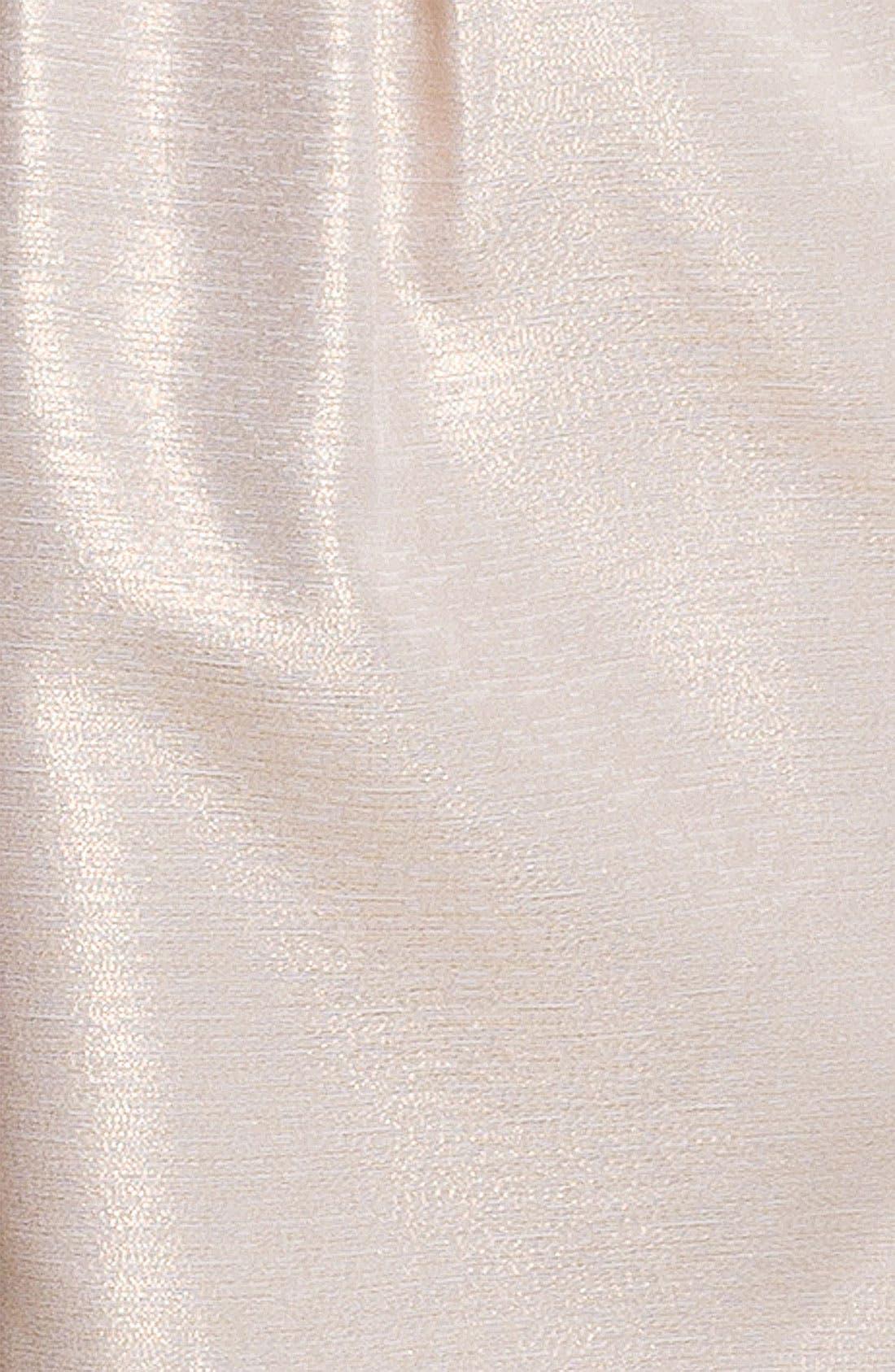 Alternate Image 3  - Aidan Mattox Metallic Strapless Tulip Dress
