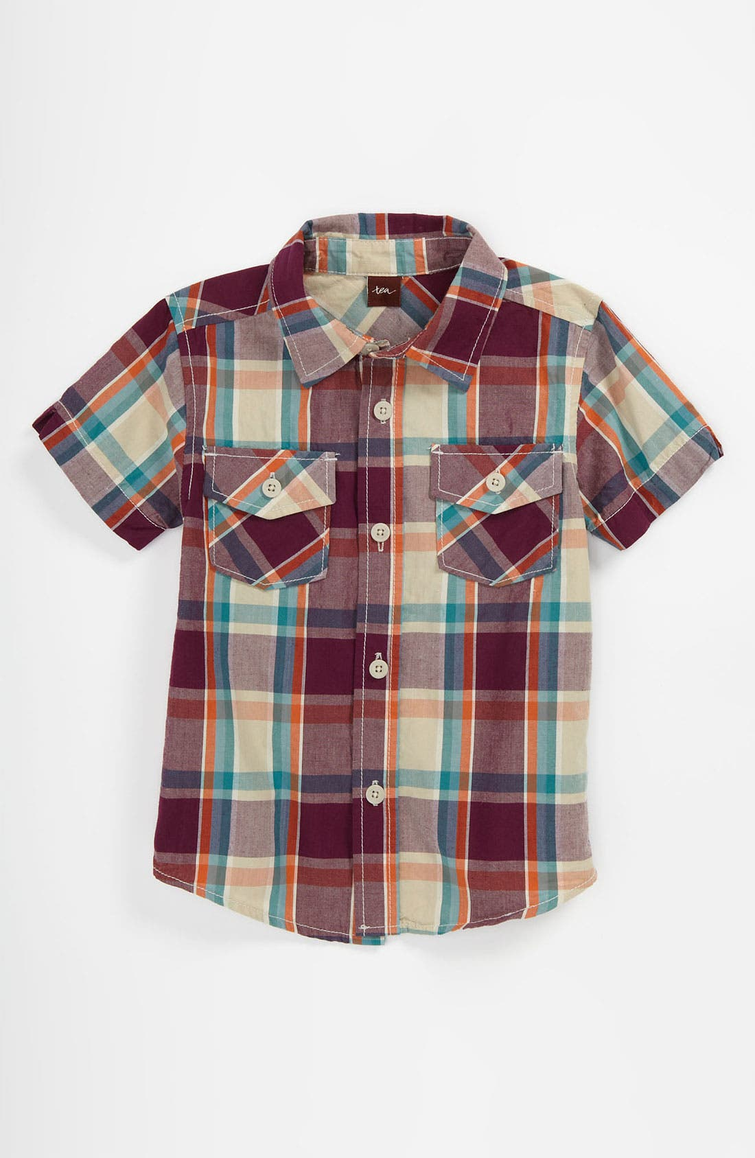 Main Image - Tea Collection 'African Sunrise' Shirt (Toddler)