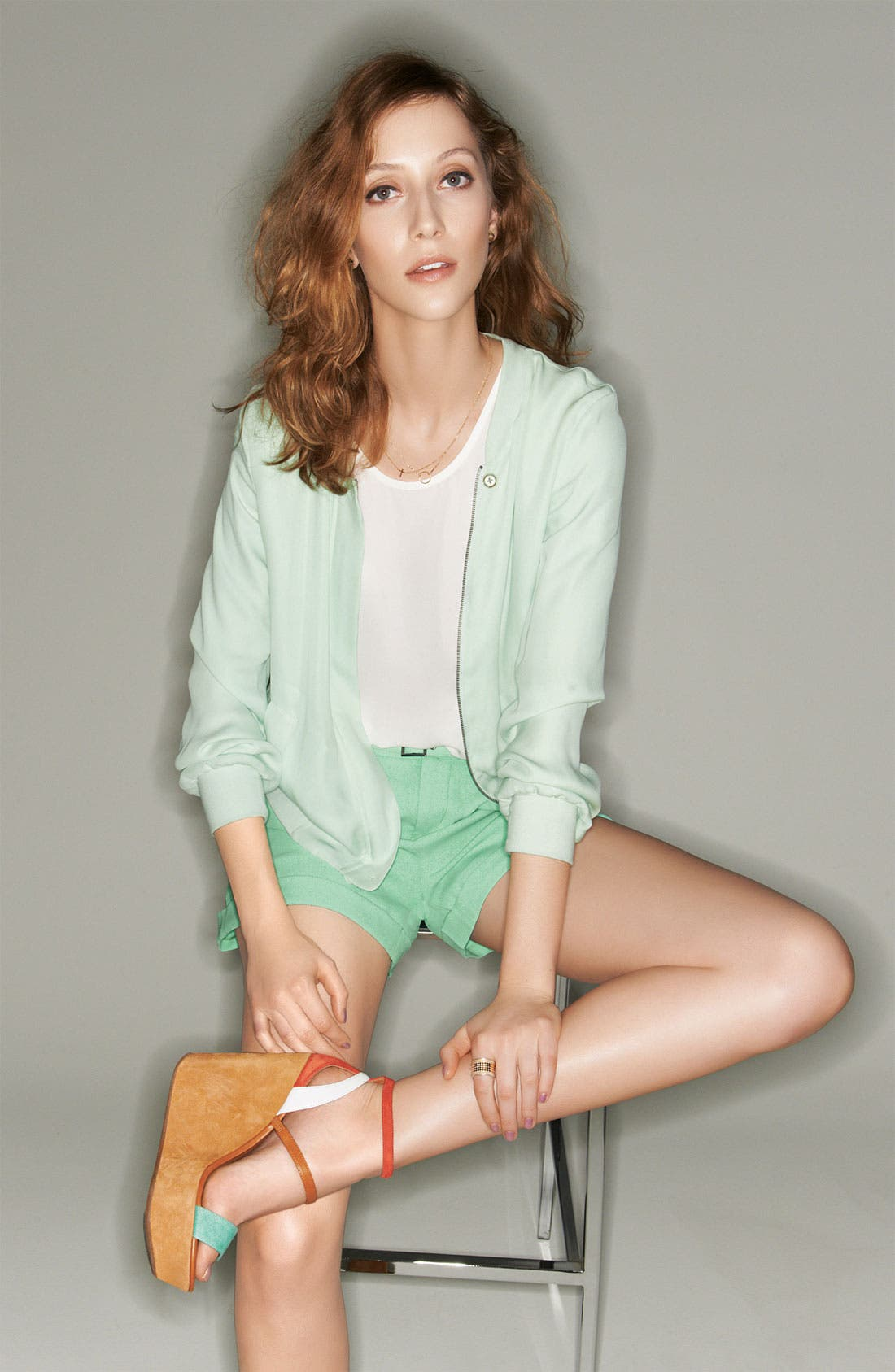 Alternate Image 4  - Joie 'Concetta' Belted Cuff Shorts