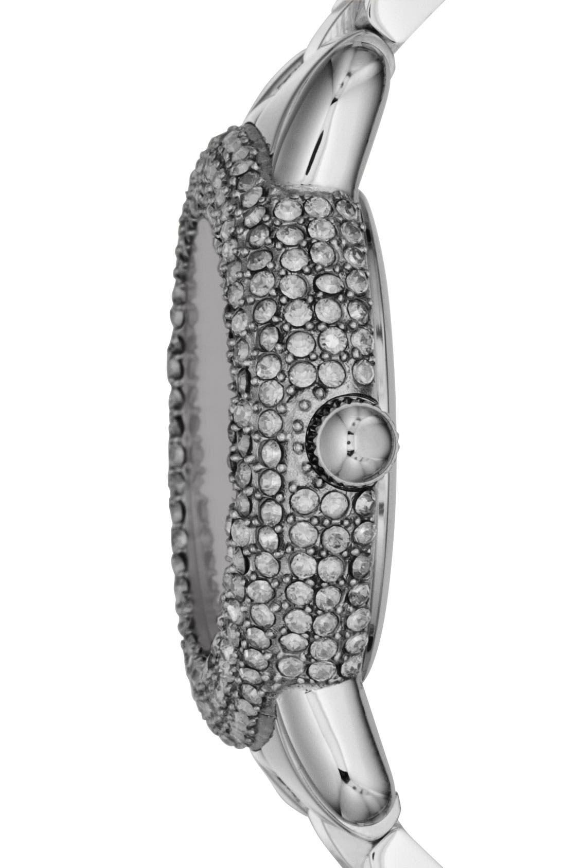 Alternate Image 2  - MARC JACOBS 'Marci' Mirror Dial Crystal Bezel Watch, 36mm