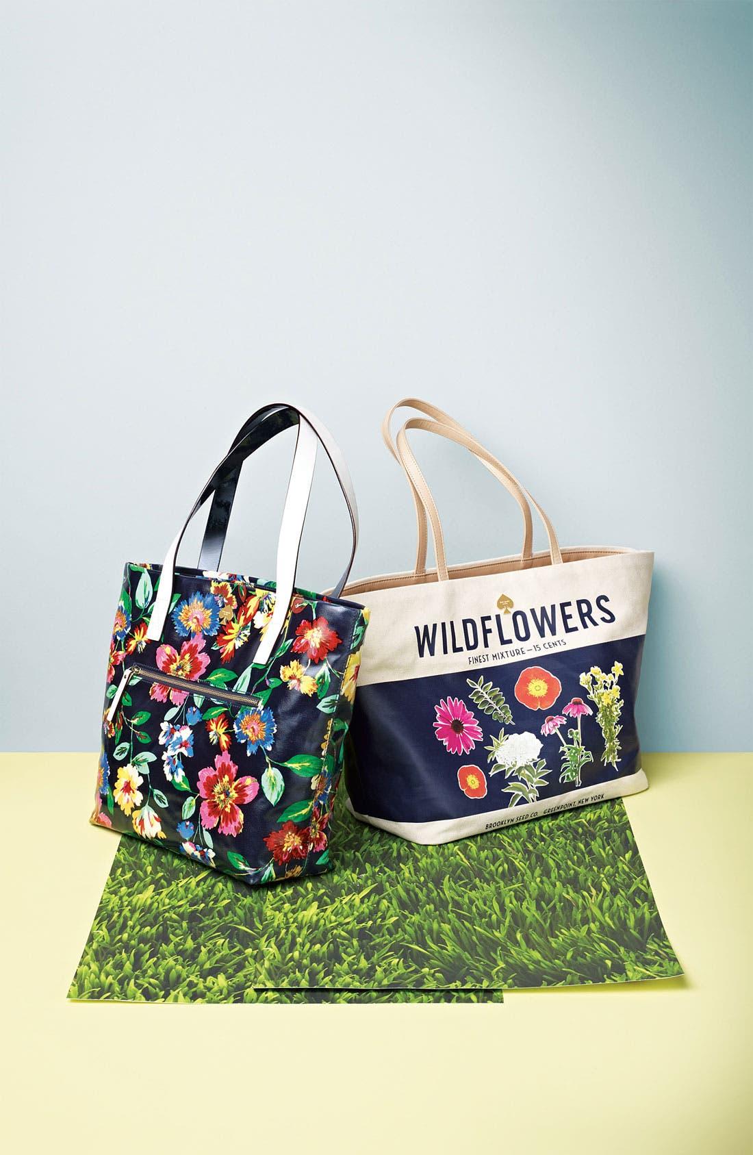 Alternate Image 5  - kate spade new york 'wildflowers - harmony' tote