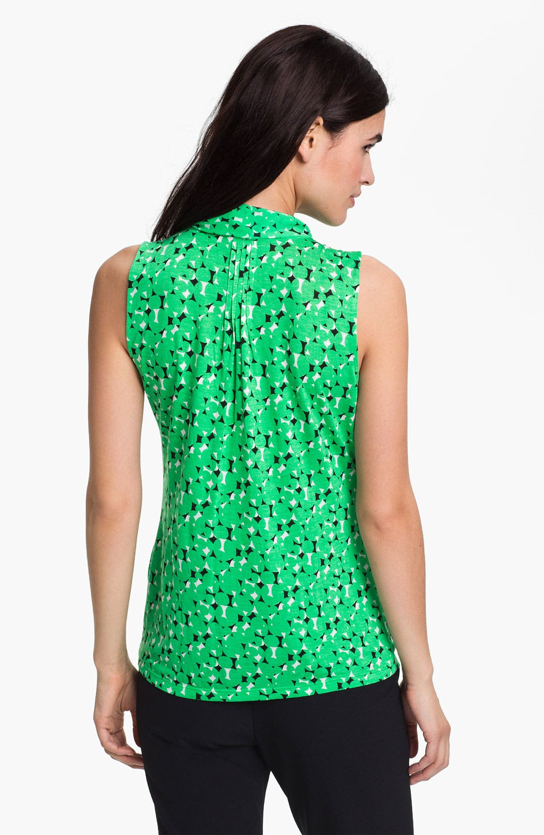Alternate Image 2  - Halogen Low Bow Sleeveless Top